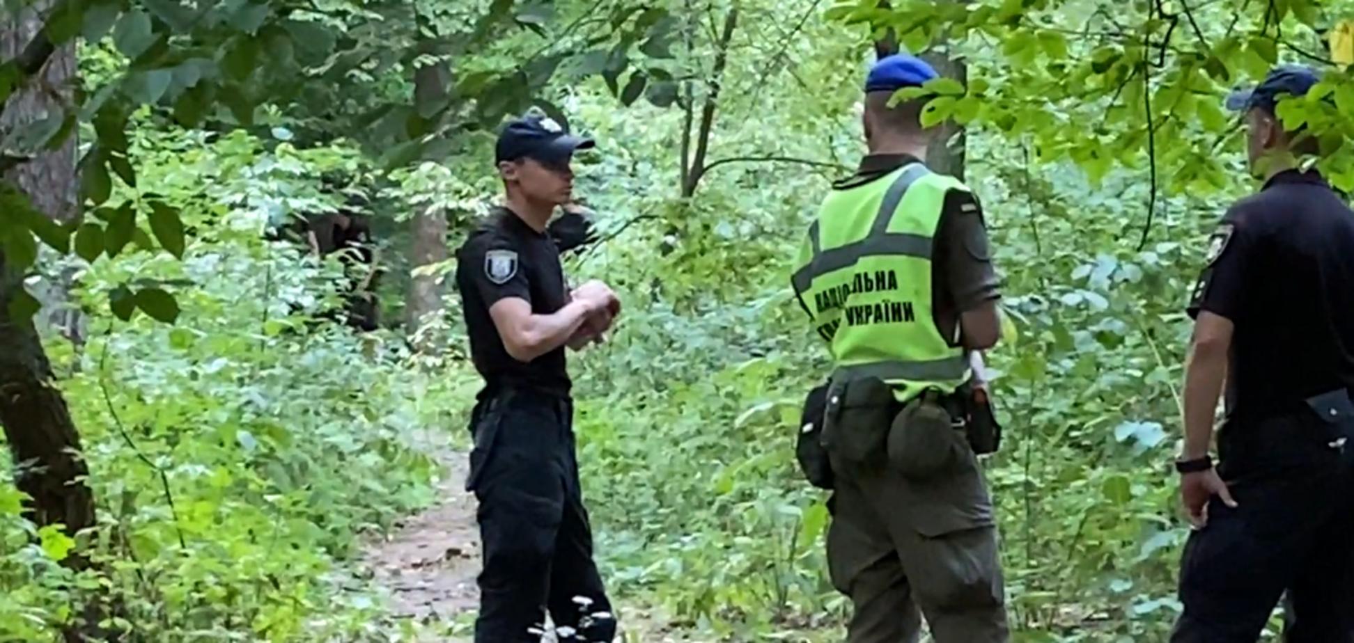 Місце, де знайшли тіло Віталія Шишова