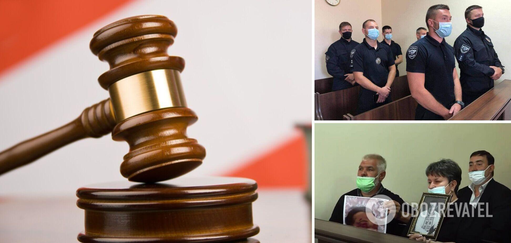 У Львові шістьох патрульних відправили до в'язниці через смерть підозрюваного. Фото і відео