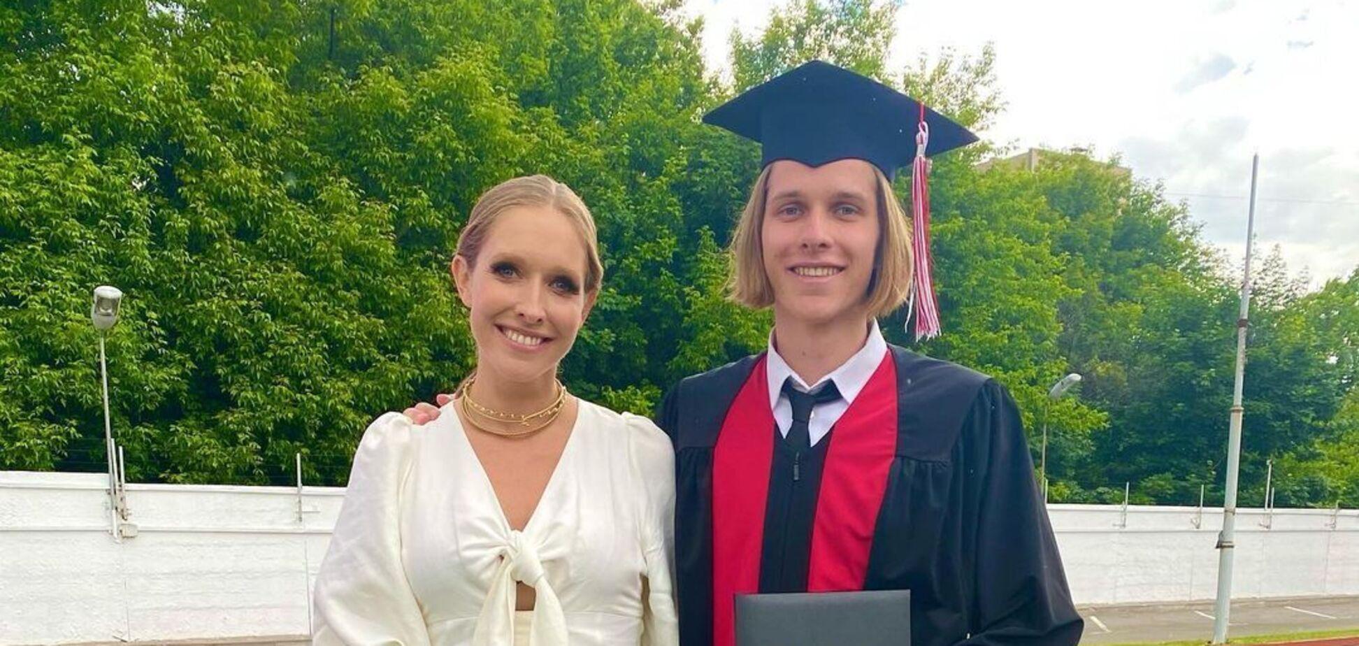 Екатерина Оасдчая и ее старший сын Илья