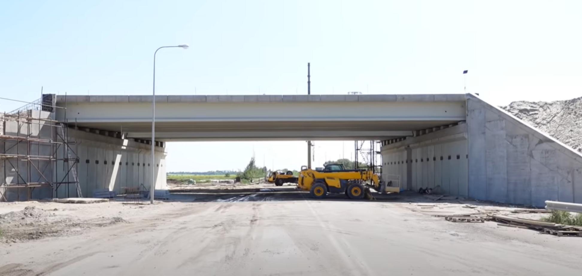 У Дніпропетровській області наближається до завершення будівництво Південної об'їзної