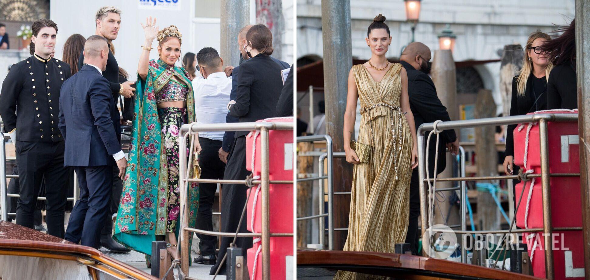 Модный показ Dolce&Gabbana: в чем пришли Лопес, Клум, Киркоров и другие. Фото