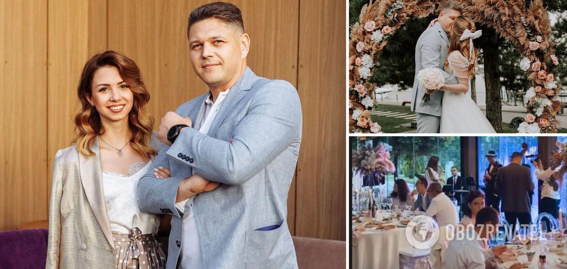 Настя з Уханю і глава міграційної служби зіграли пишне весілля. Фото