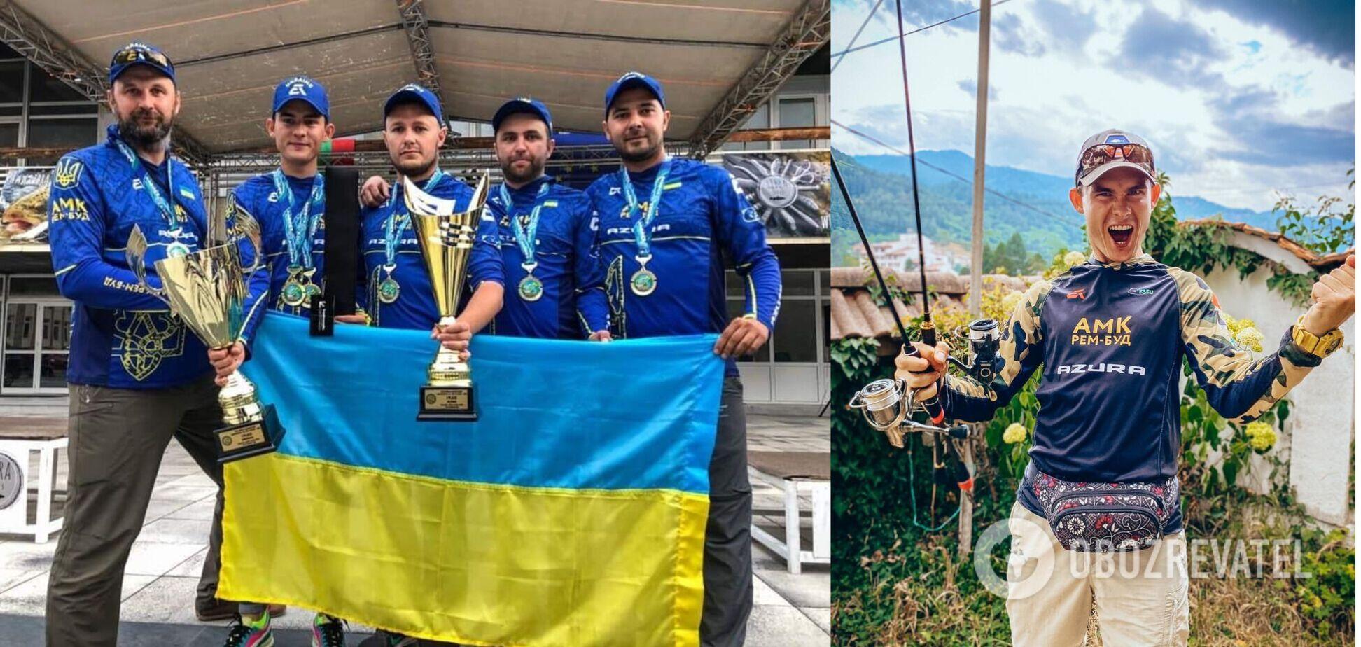 Рыбалка Сборная Украины
