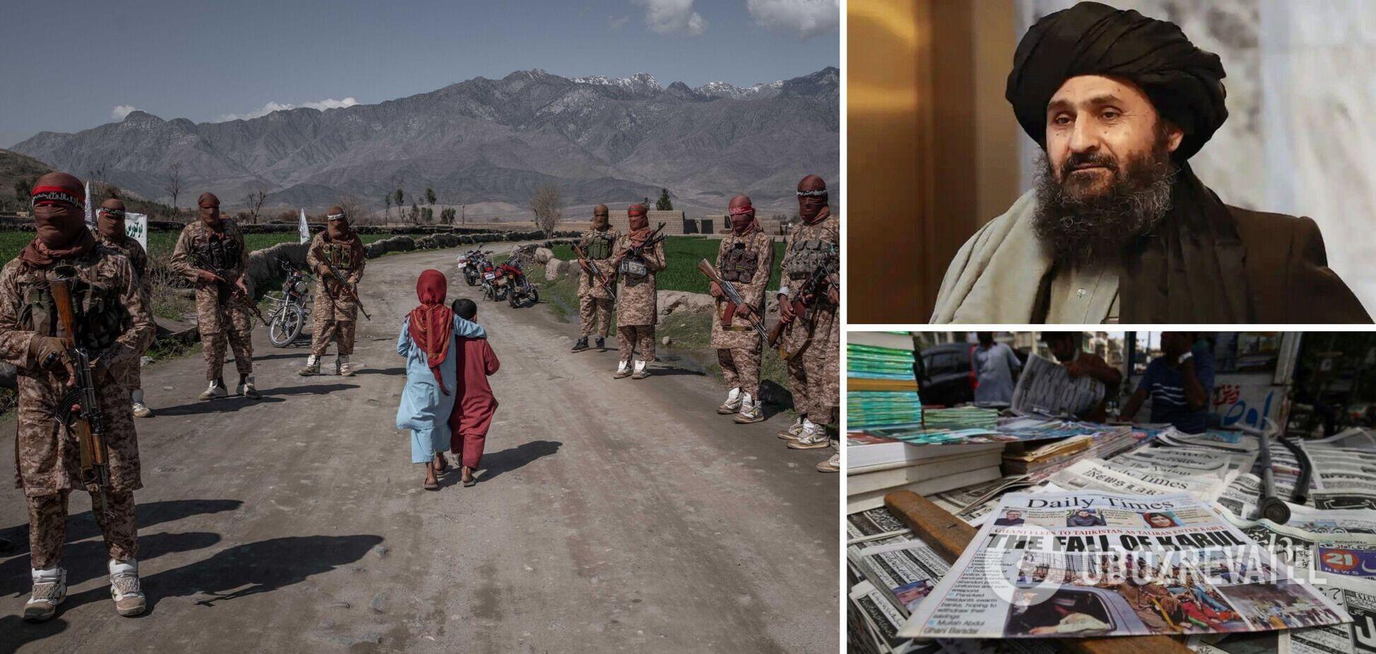Один з лідерів талібів взяв участь у переговорах про новий уряд Афганістану: з'явилися подробиці