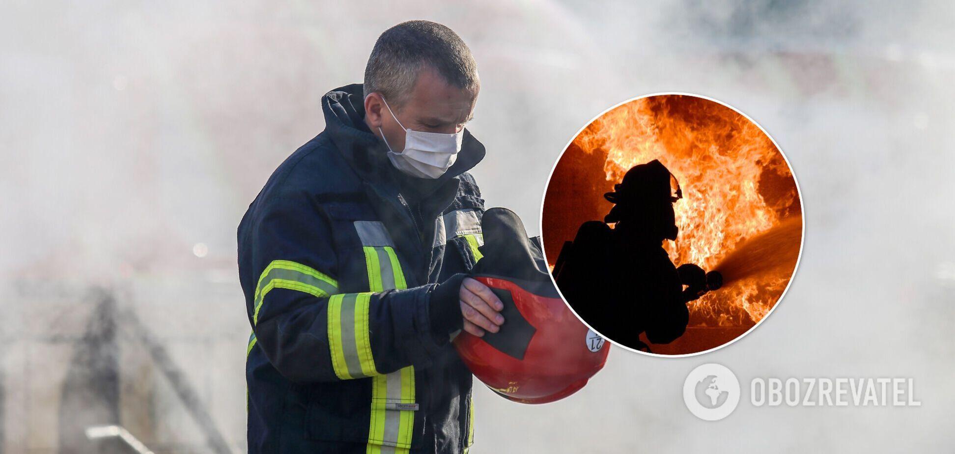 Рятувальники виявили киянина під час гасіння вогню