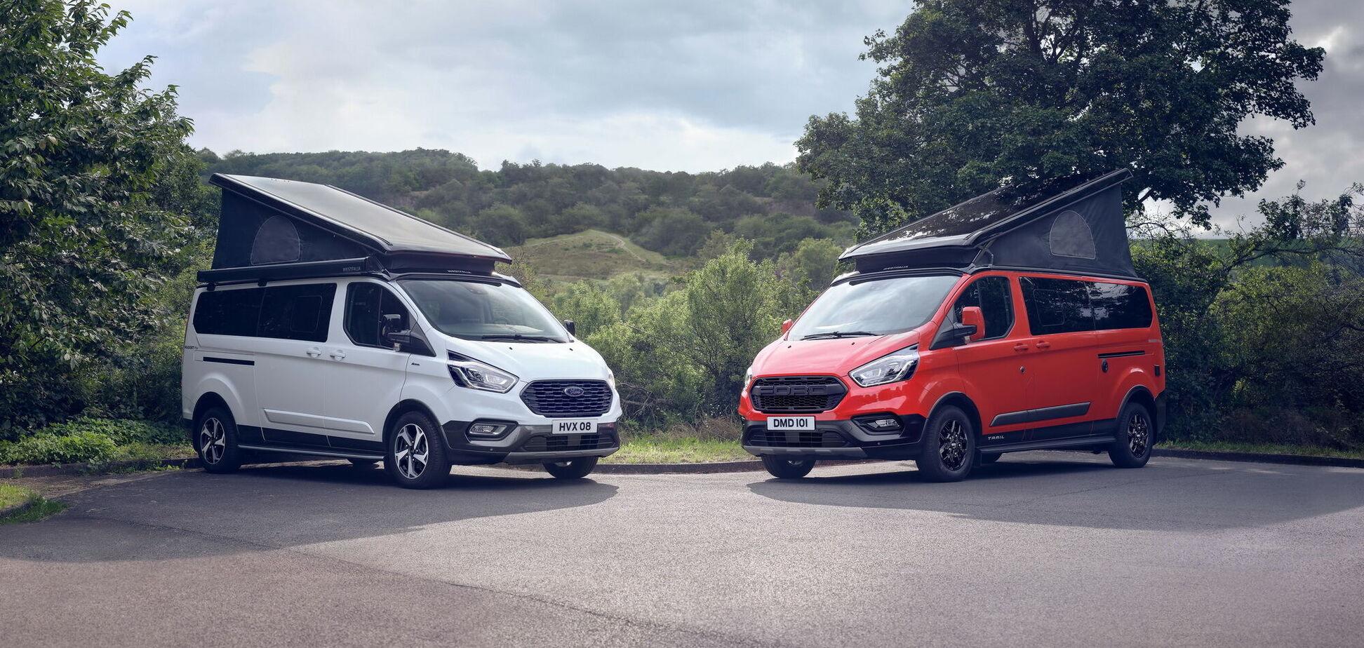 Ford перетворив Transit на кемпер для мандрівників
