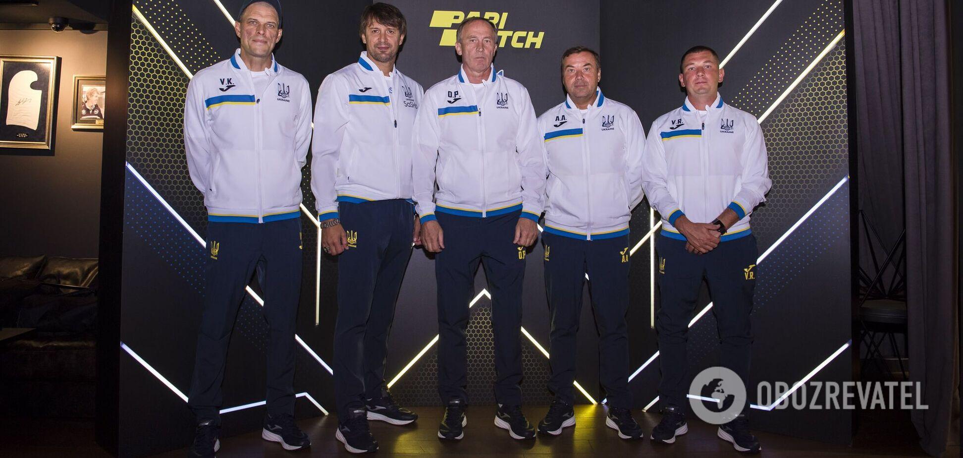Expert club Parimatch: перший робочий день нового тренера збірної