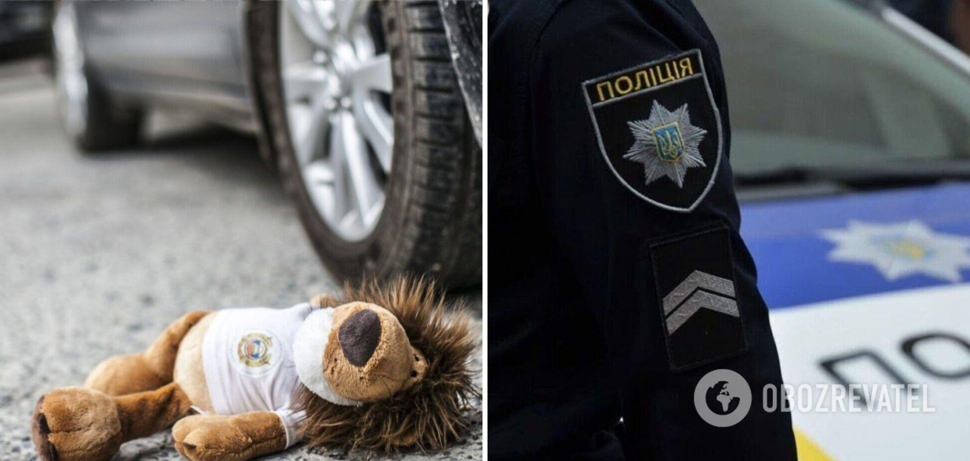 На Хортице пьяный водитель на скорости сбил семью с ребенком. Фото и детали трагедии