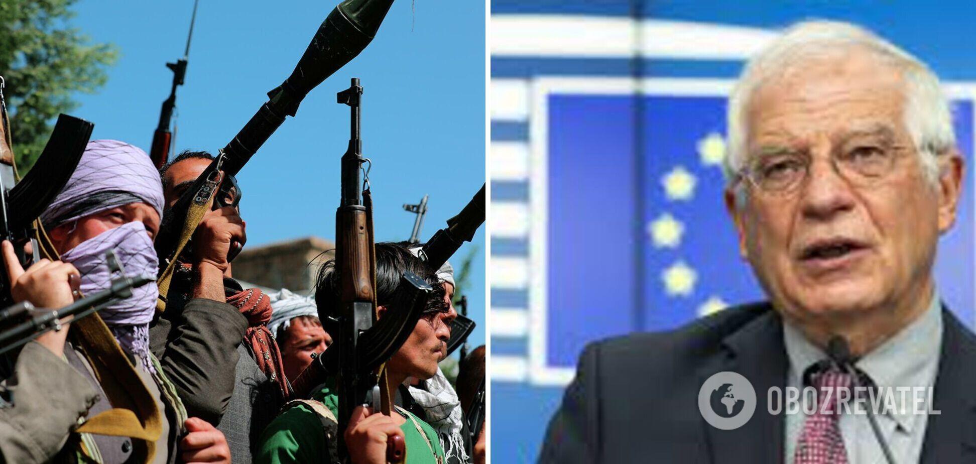 Глава дипломатії ЄС про ситуацію в Афганістані: нам потрібно винести уроки та створити сили швидкого реагування
