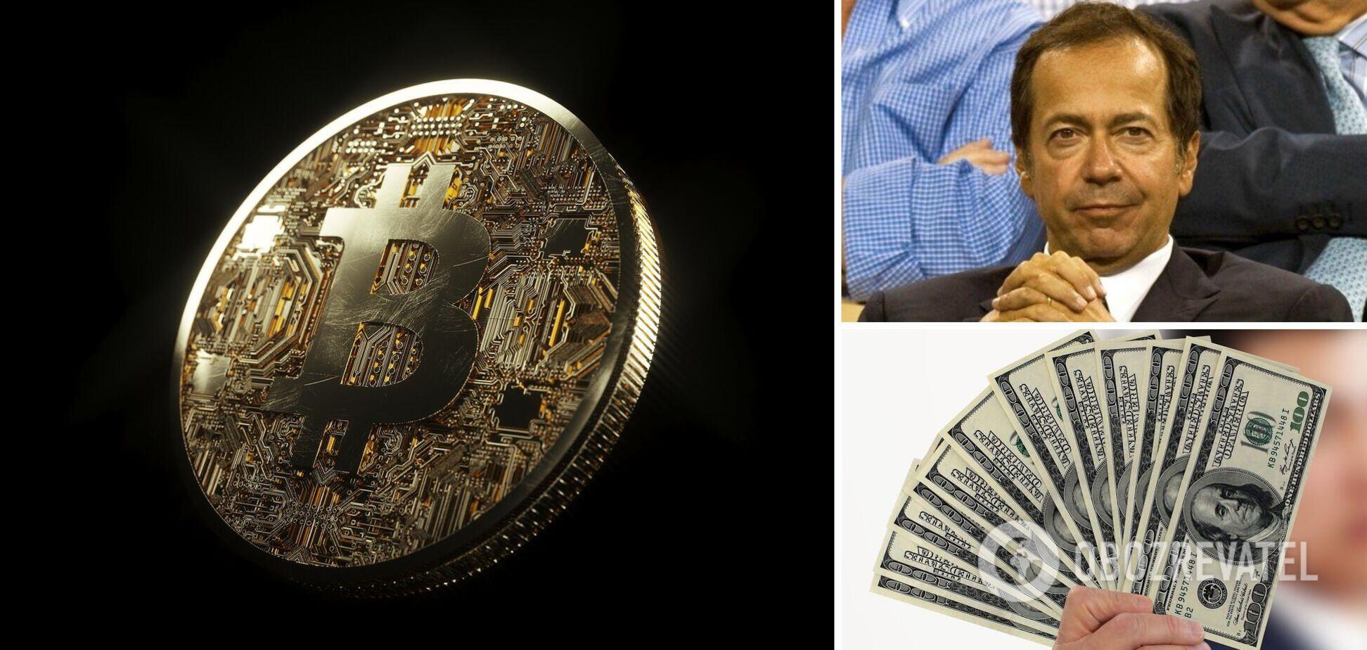 Миллиардер Полсон заявил, что криптовалюты окажутся бесполезными: когда 'упадут до нуля'