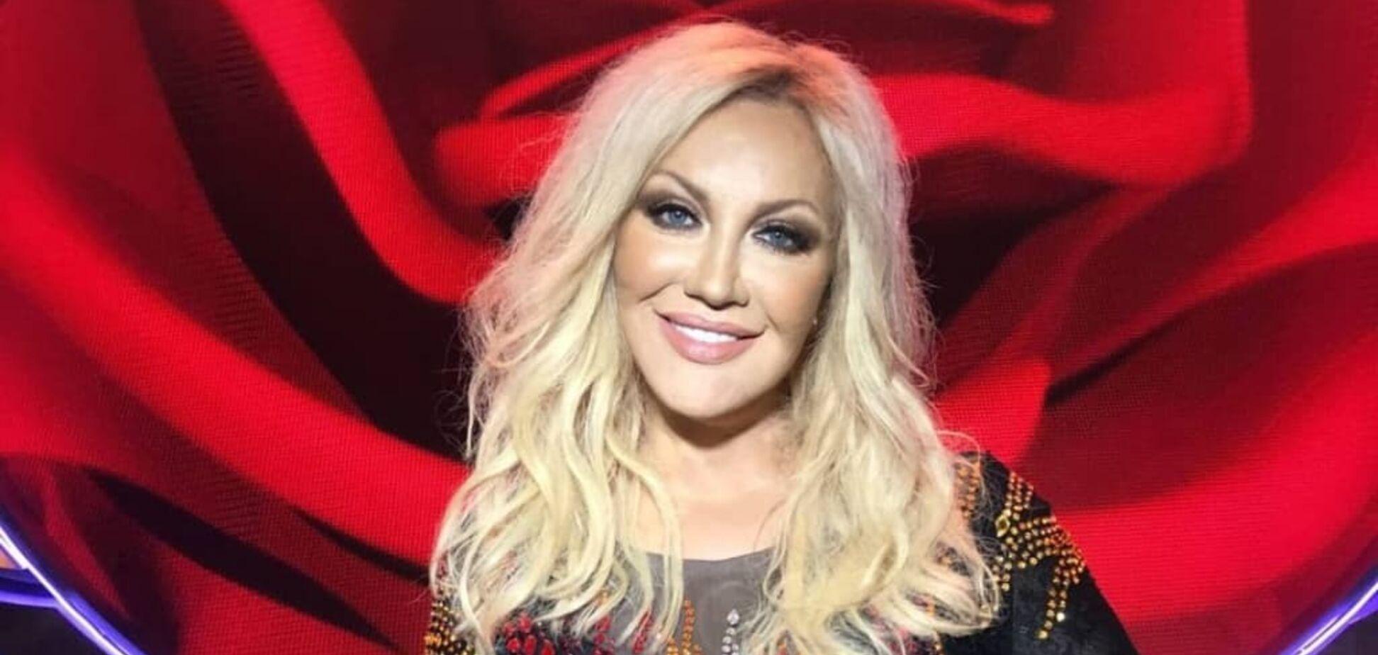 Украинская певица Таисия Повалий