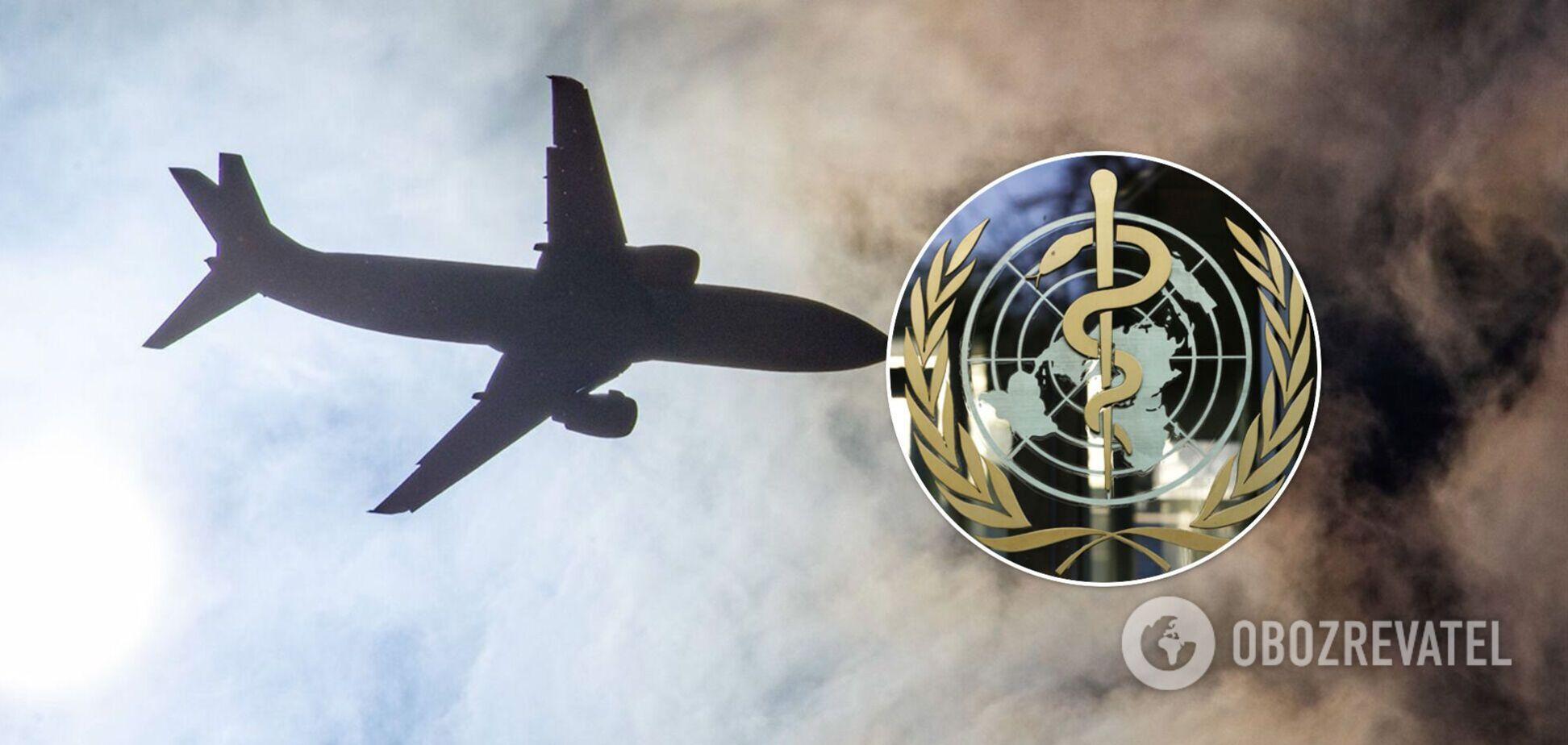 У Кабулі приземлився літак ВООЗ із медичною допомогою для поранених