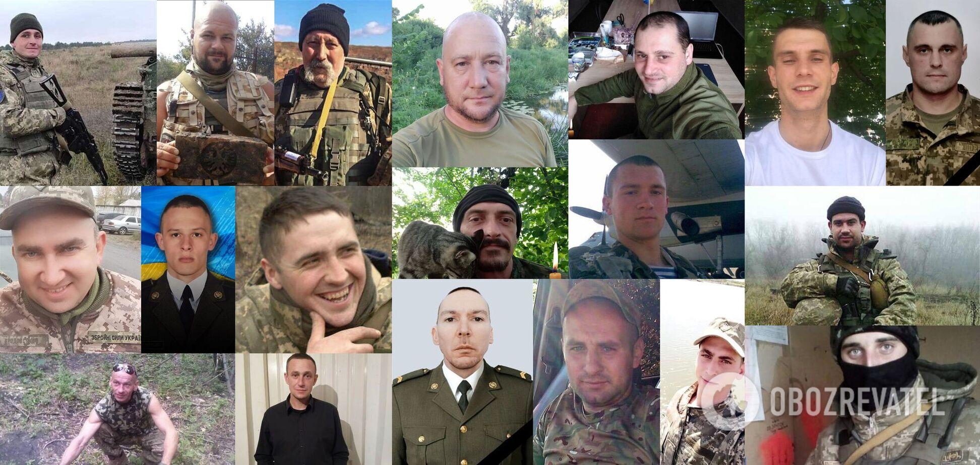 'Образец мужества и чести'. Истории воинов, погибших на Донбассе в июле и августе