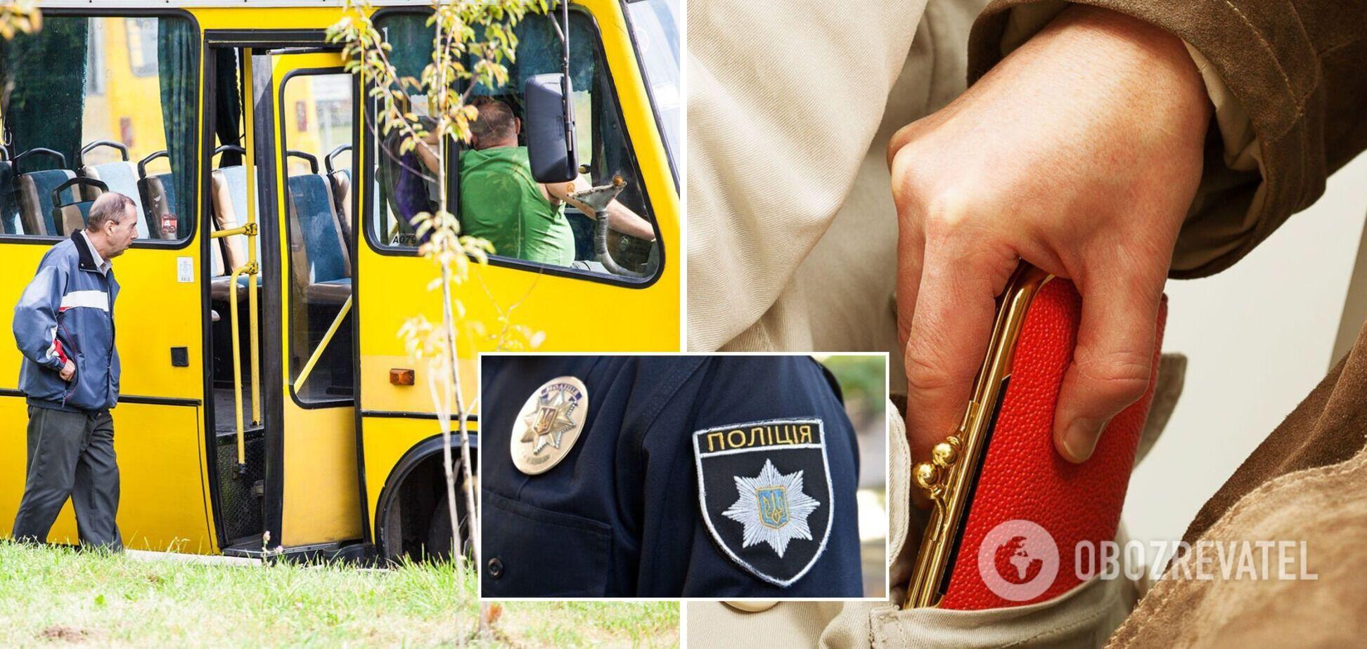 Во Львове полицейский в выходной задержал грабителя, орудовавшего в маршрутке. Фото