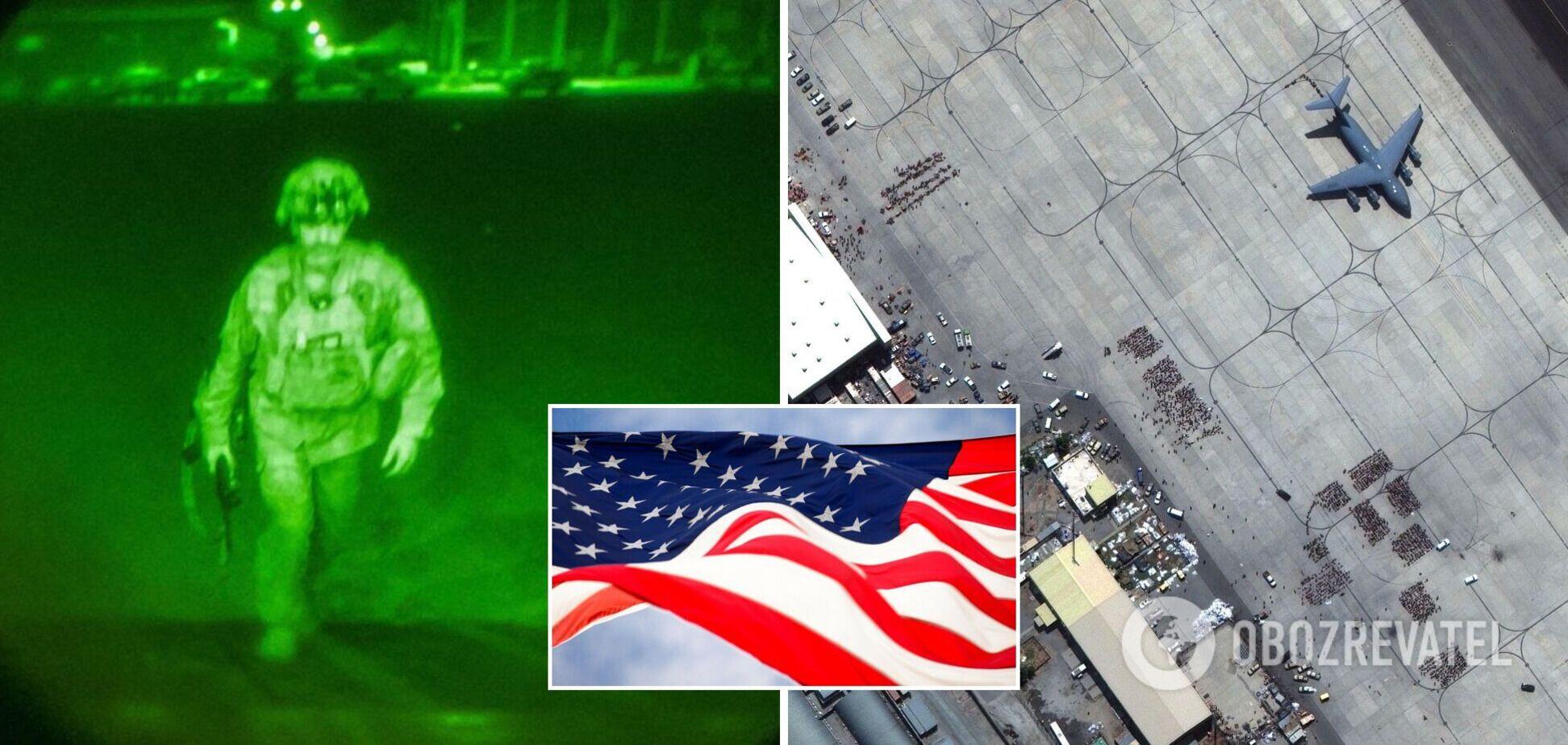 У США показали фото останнього американського військового, який покинув Афганістан