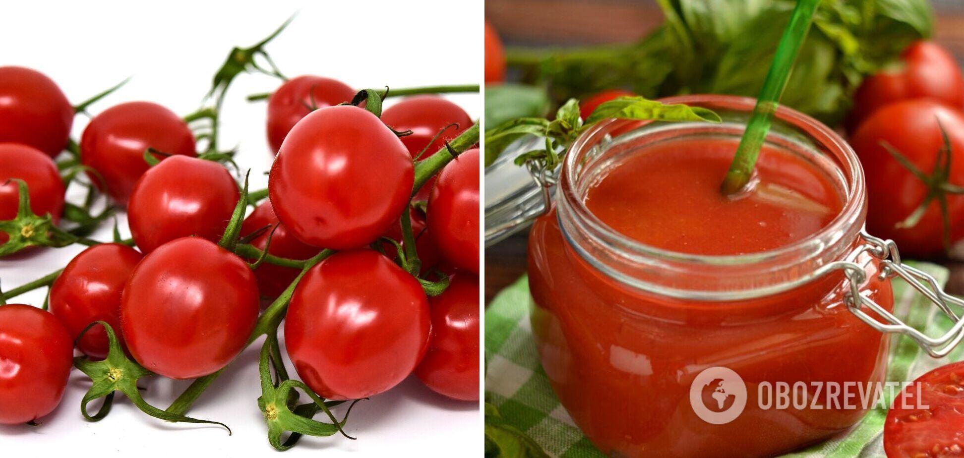 Домашний пряный томат
