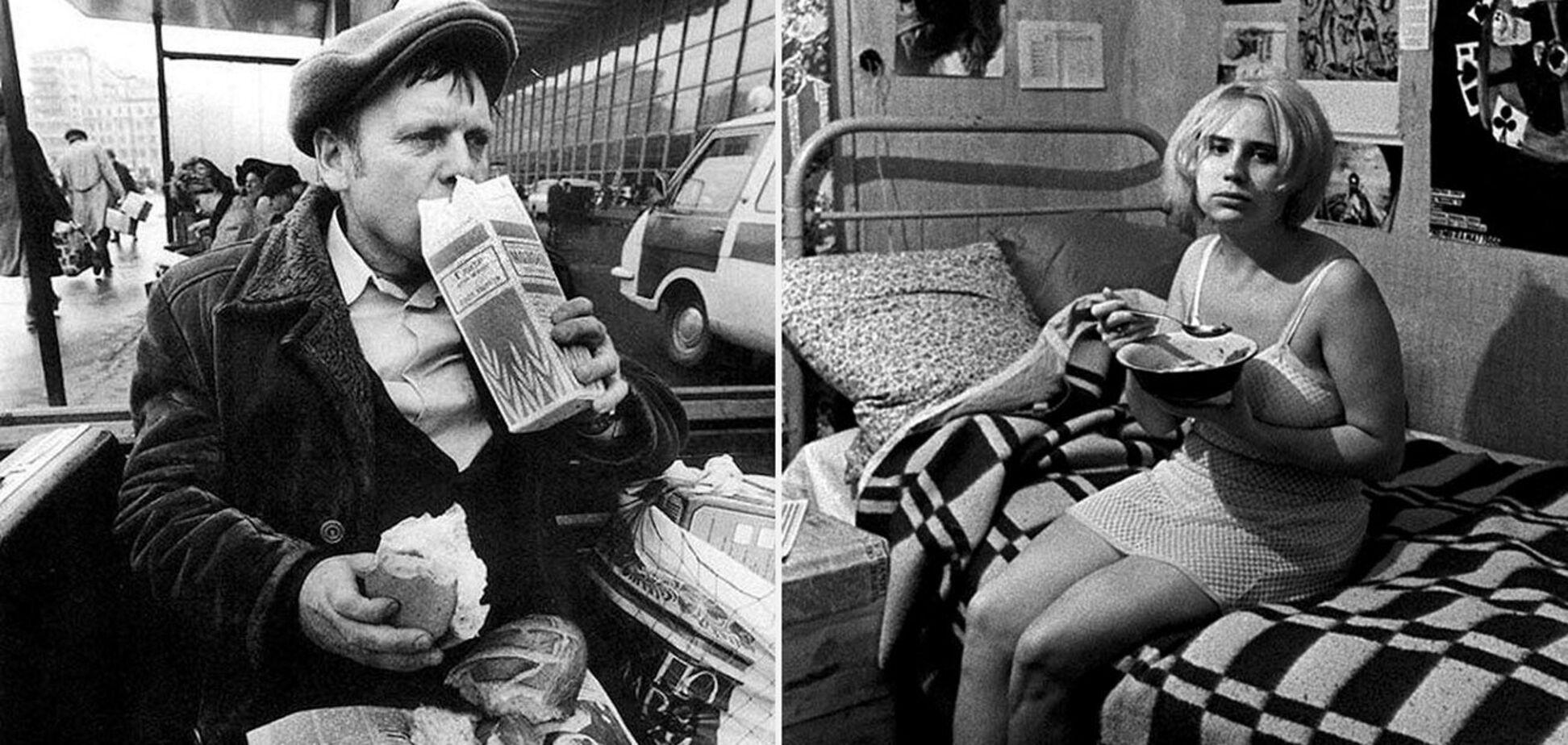 Убогий фастфуд в СССР: бутылка кефира и полбатона