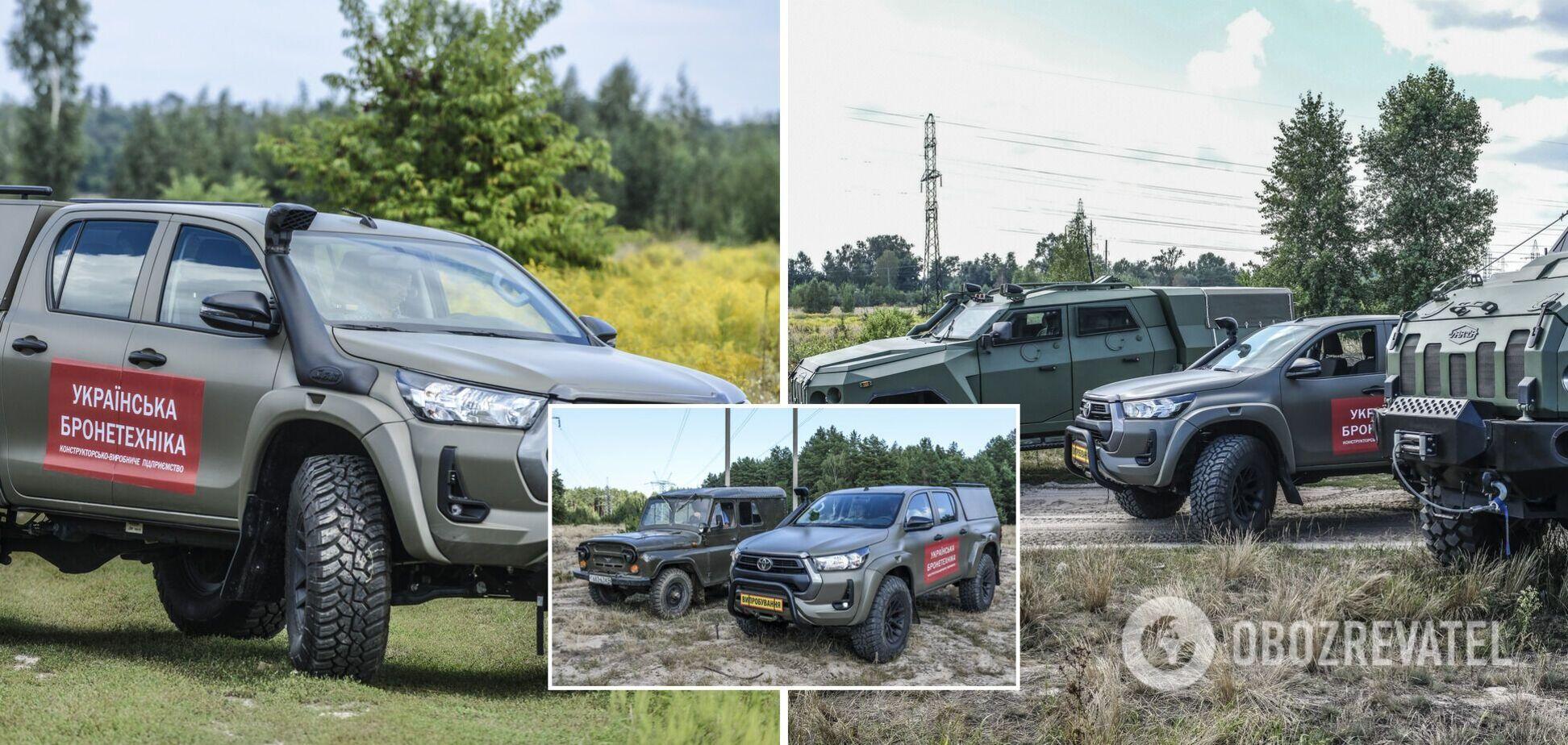 'Українська бронетехніка' представила  легковий автомобіль підвищеної прохідності