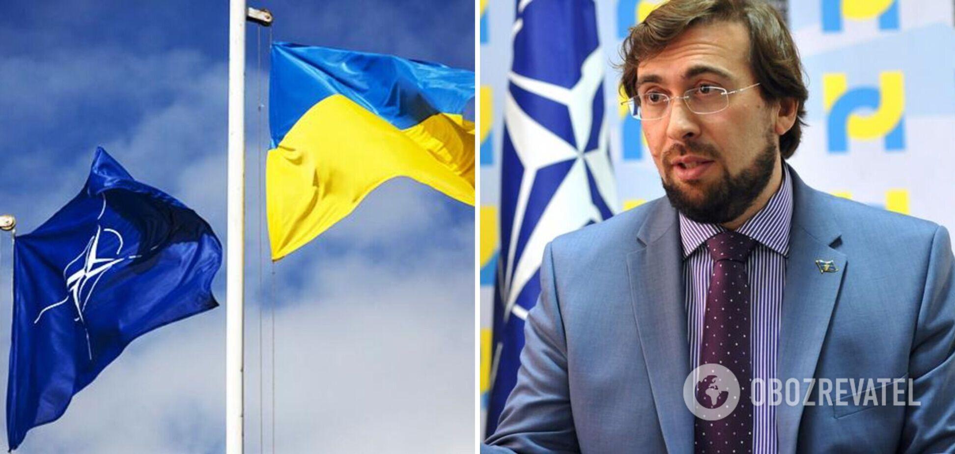 Могут ли Украину принять в НАТО во время войны: ответ посла Альянса. Видео