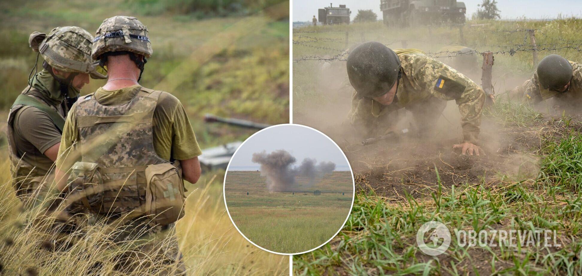 В августе на Донбассе погибли девять бойцов ВСУ, 28 получили ранения