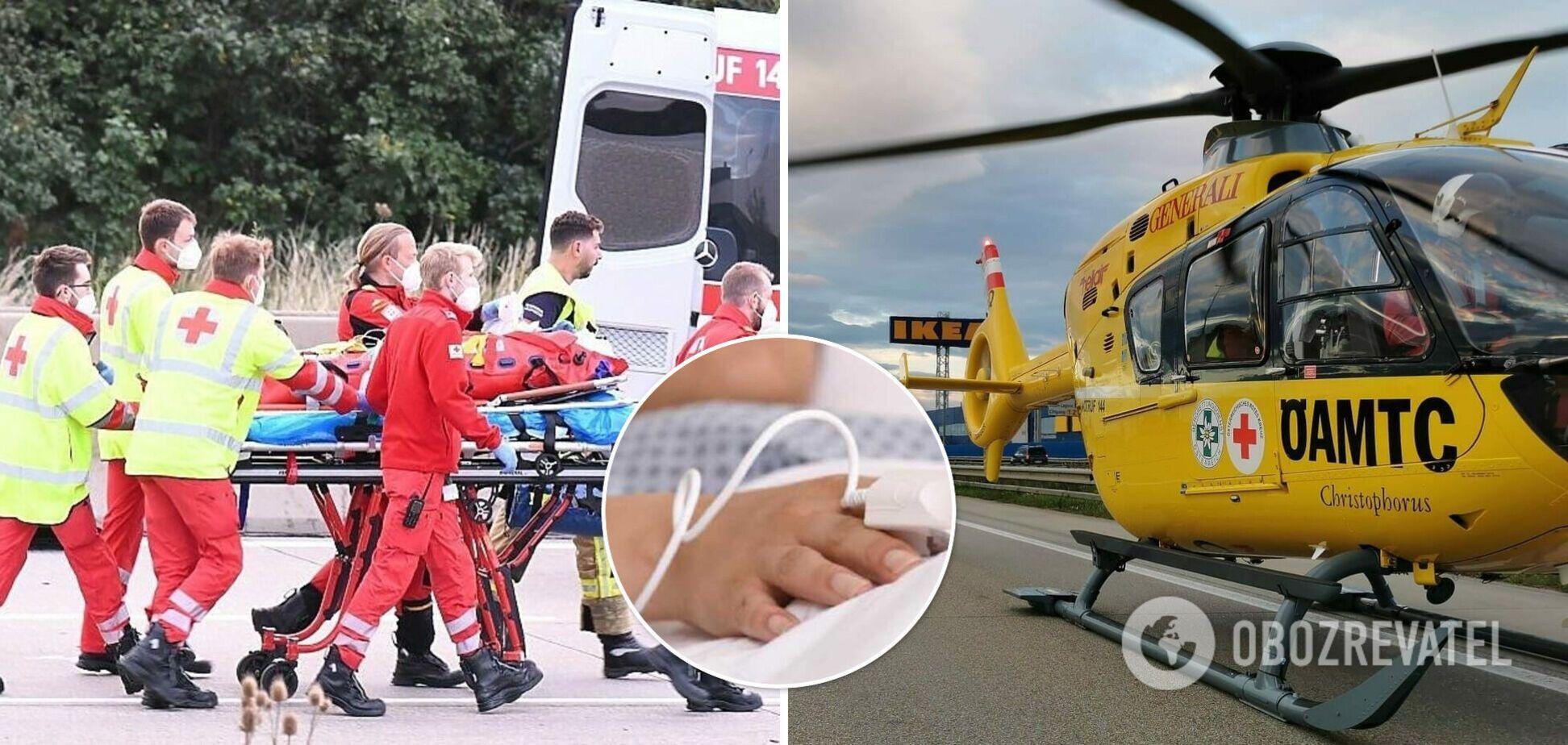 В Австрии семья из Украины попала в ДТП, погибли двое детей. Фото и все подробности