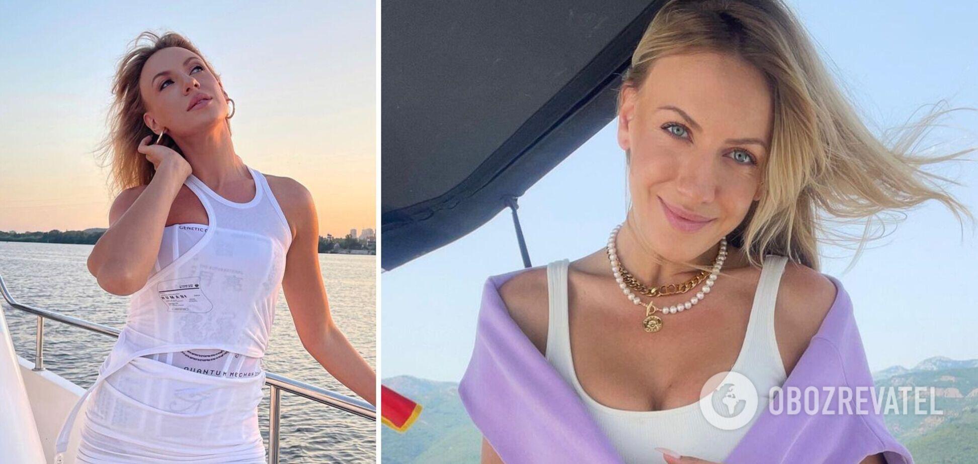 Леся Никитюк в крошечном бикини засветила красивую фигуру. Фото