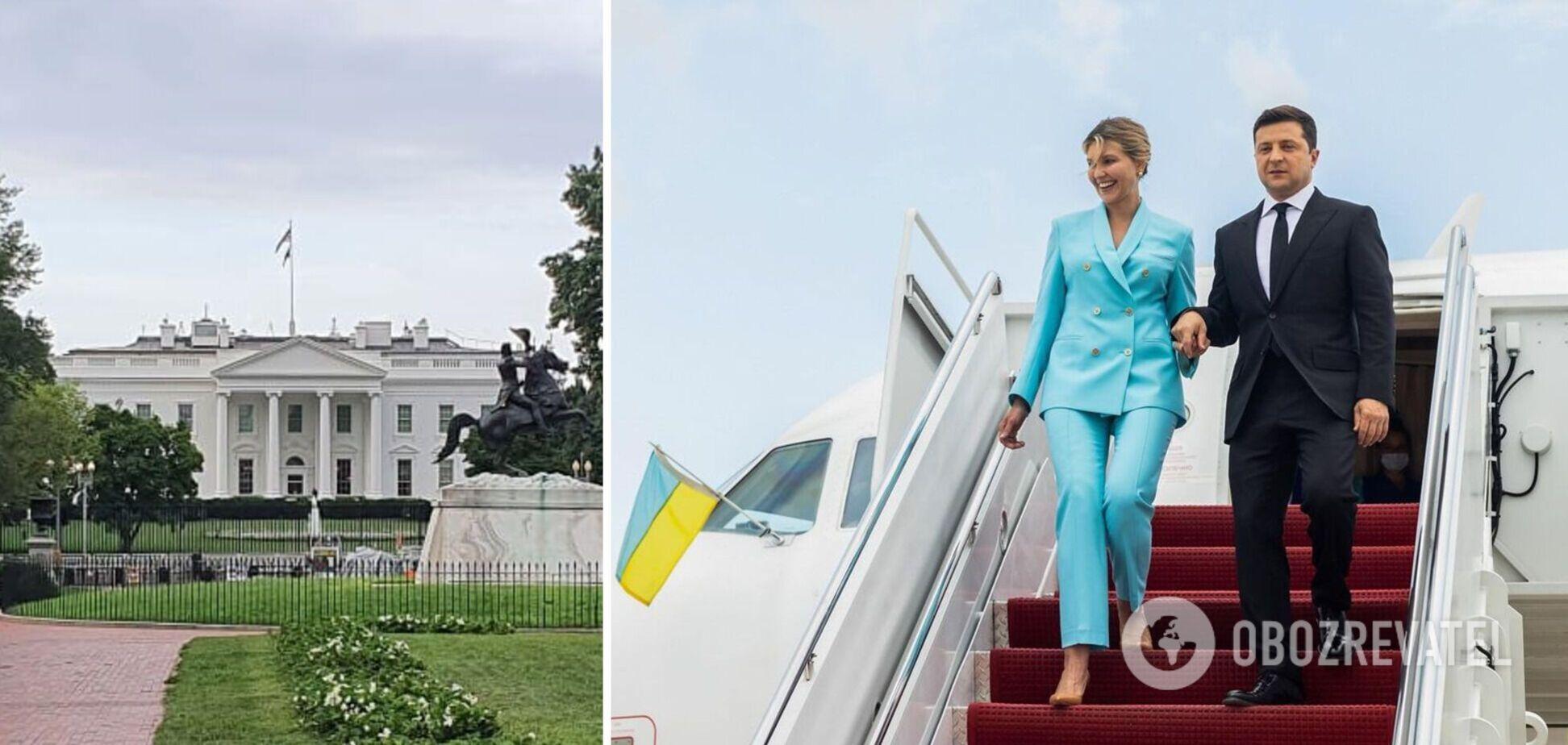 Володимир та Олена Зеленські перебувають із візитом у США