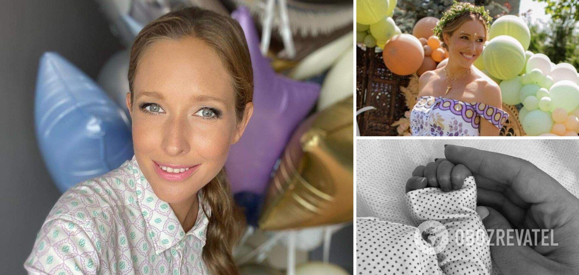Катя Осадчая показала чувственное фото с новорожденным сыном