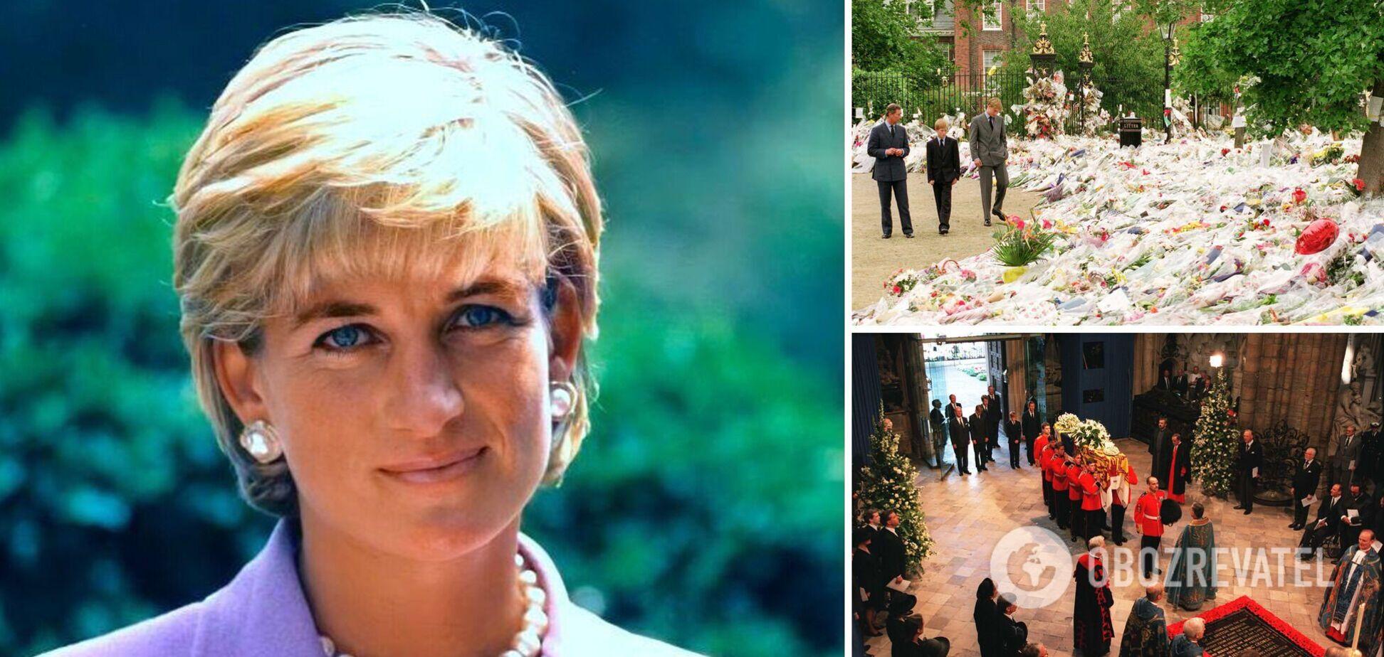 Принцеса Діана загинула 24 роки тому: Чарльз не зміг стримати сліз, а Єлизавета II порушила протокол
