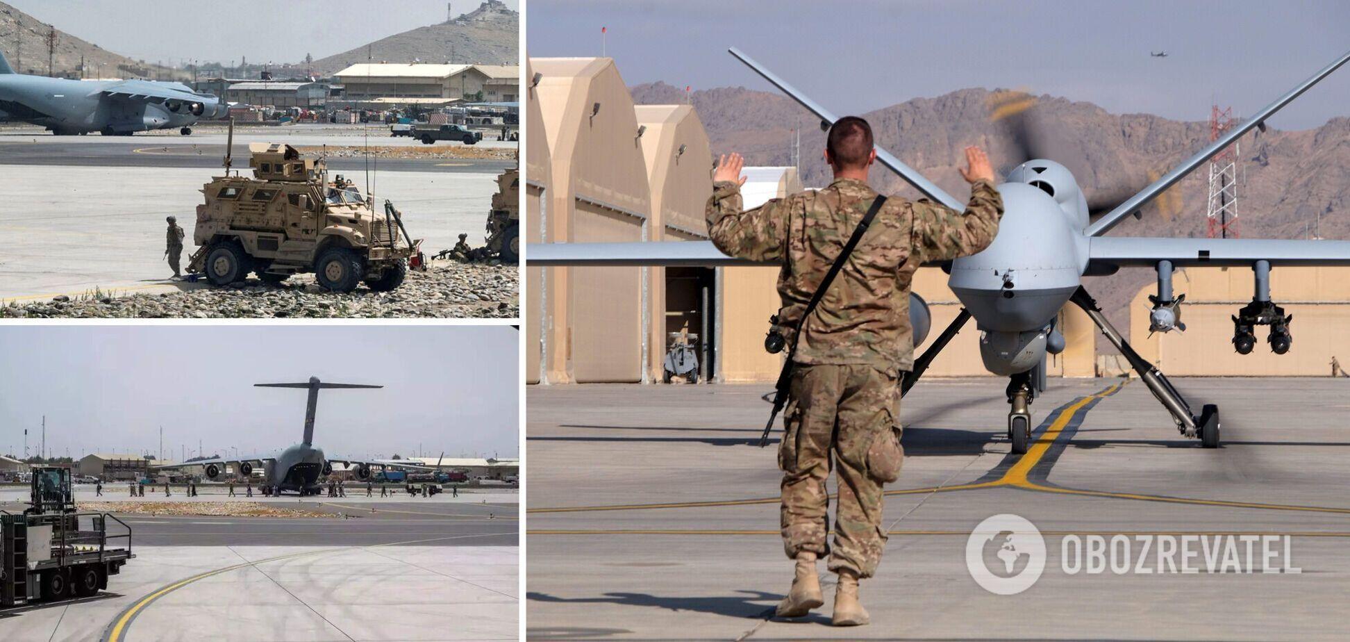 Военные США перед уходом из Афганистана вывели из строя самолеты и бронемашины в Кабуле