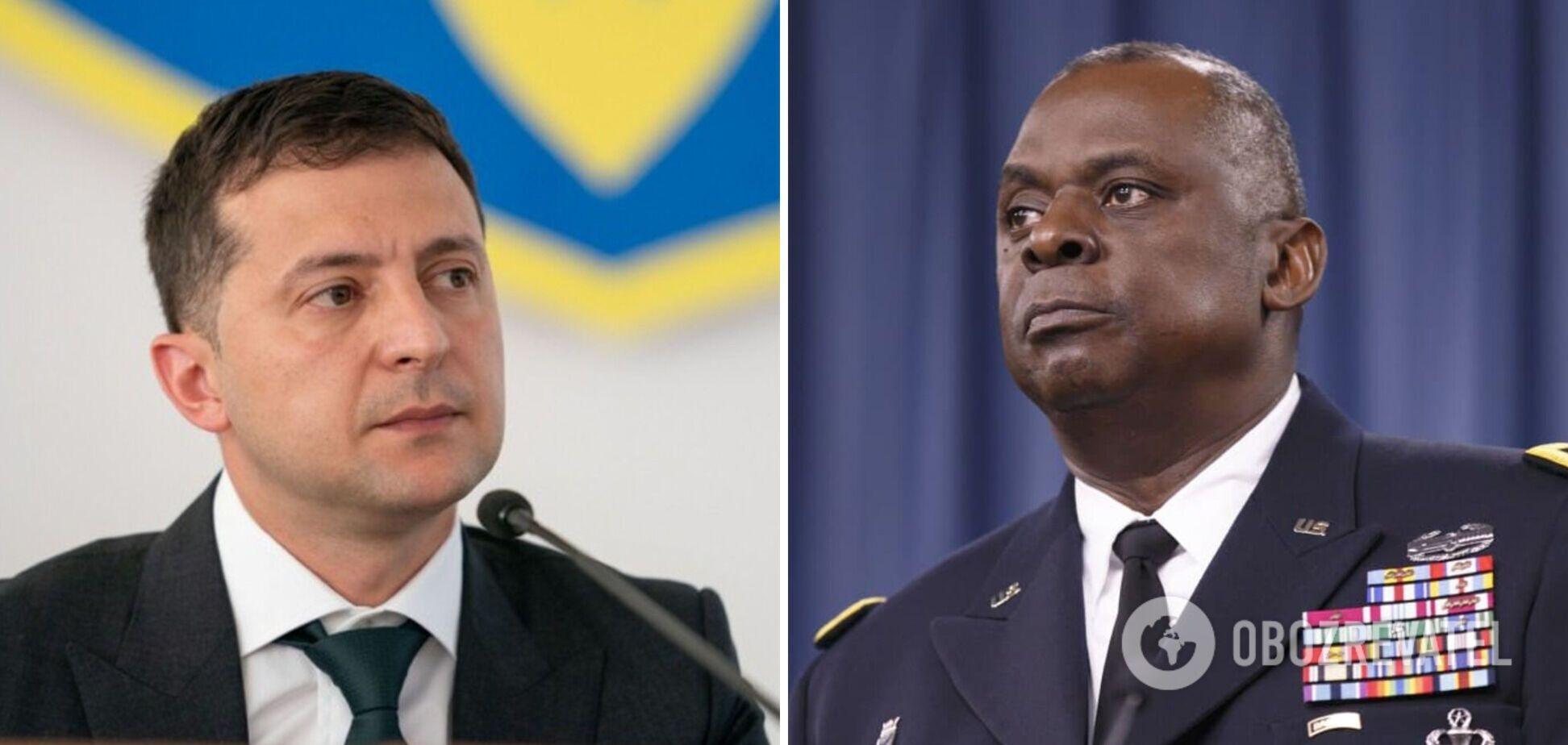 Зеленський проведе переговори з міністром оборони США: з'явилися подробиці