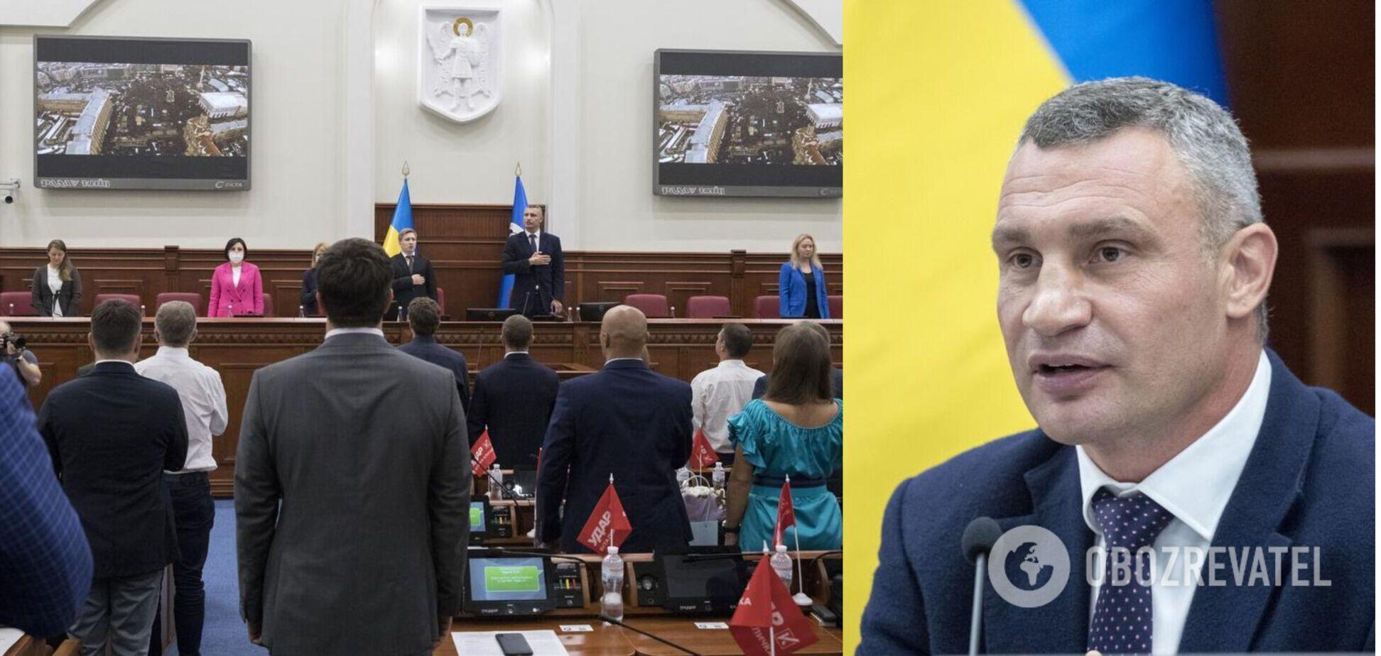 Кличко – о законопроекте о столице: киевлян хотят лишить права избирать власть города