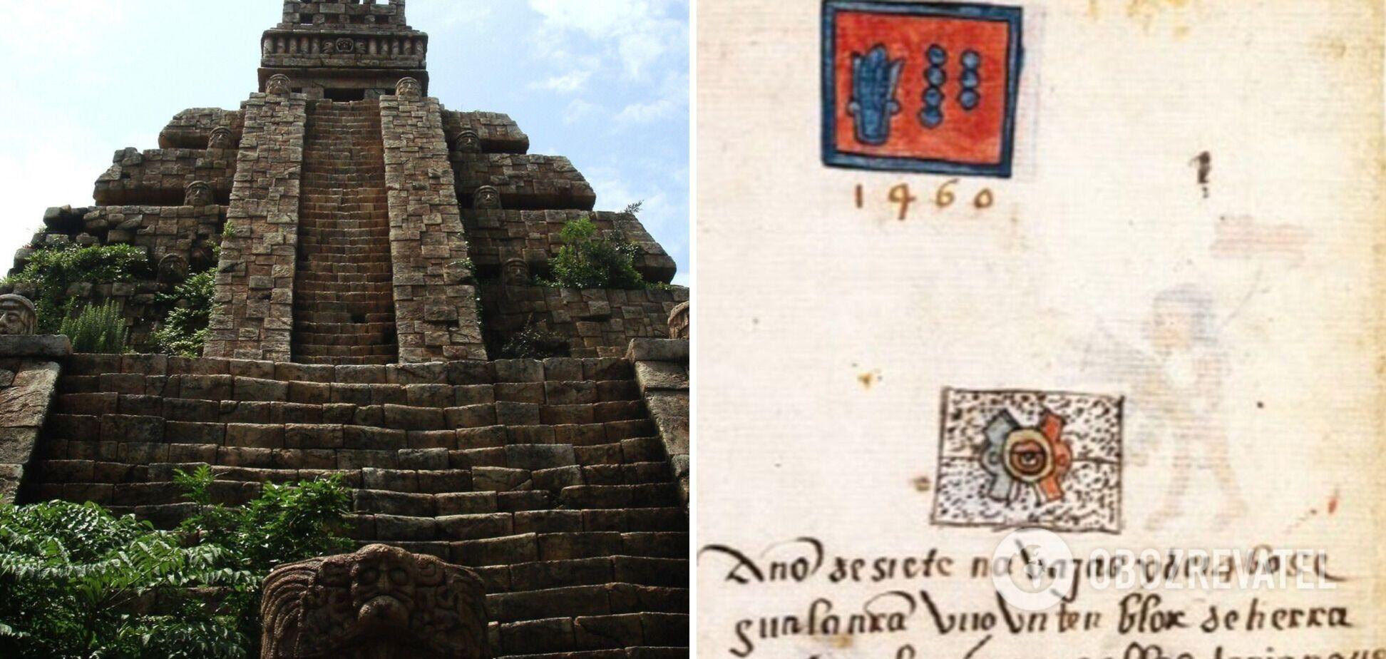 Вчені виявили в кодексі ацтеків найдавніші письмові свідчення землетрусів. Фото