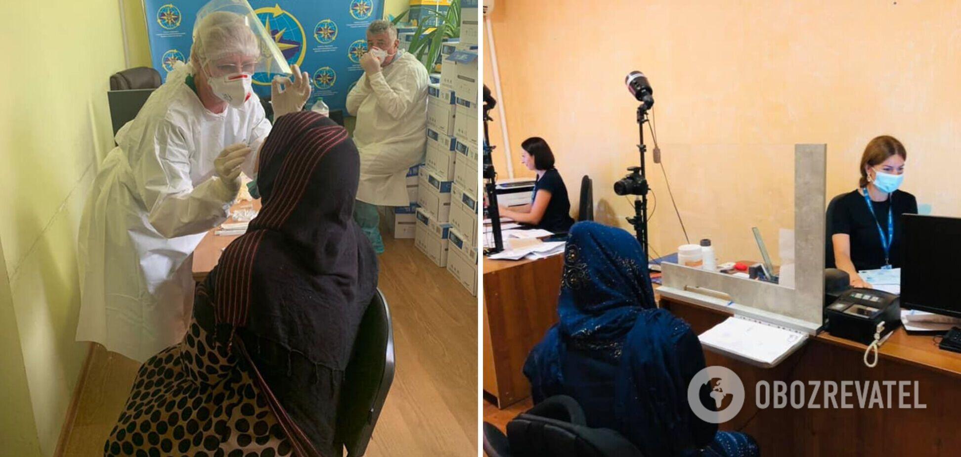 В Одессу прибыли беженцы из Афганистана, некоторых сразу забрали в больницу. Фото и видео