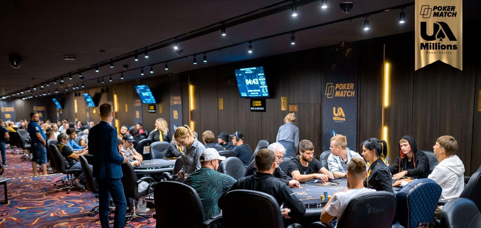 Великий покер підкорює Україну: на серії PokerMatch UA Millions в Одесі розіграли понад 10 млн гривень
