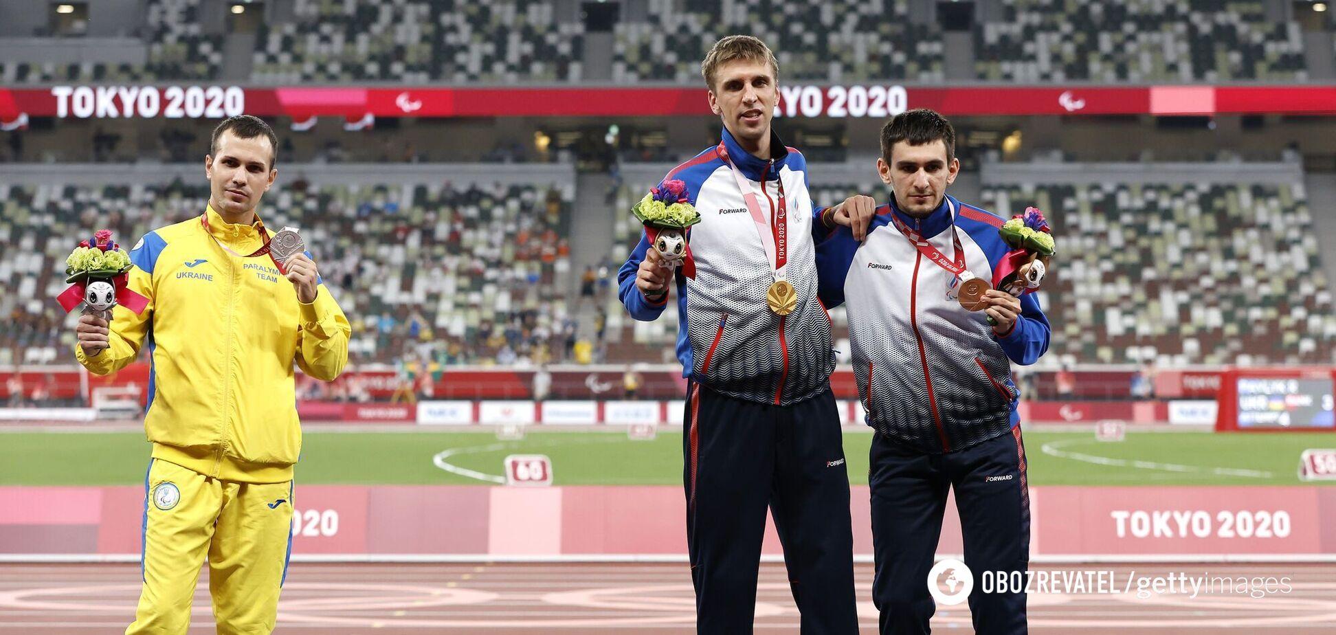 Ігор Цвєтов фото з росіянами Паралімпіада 2020