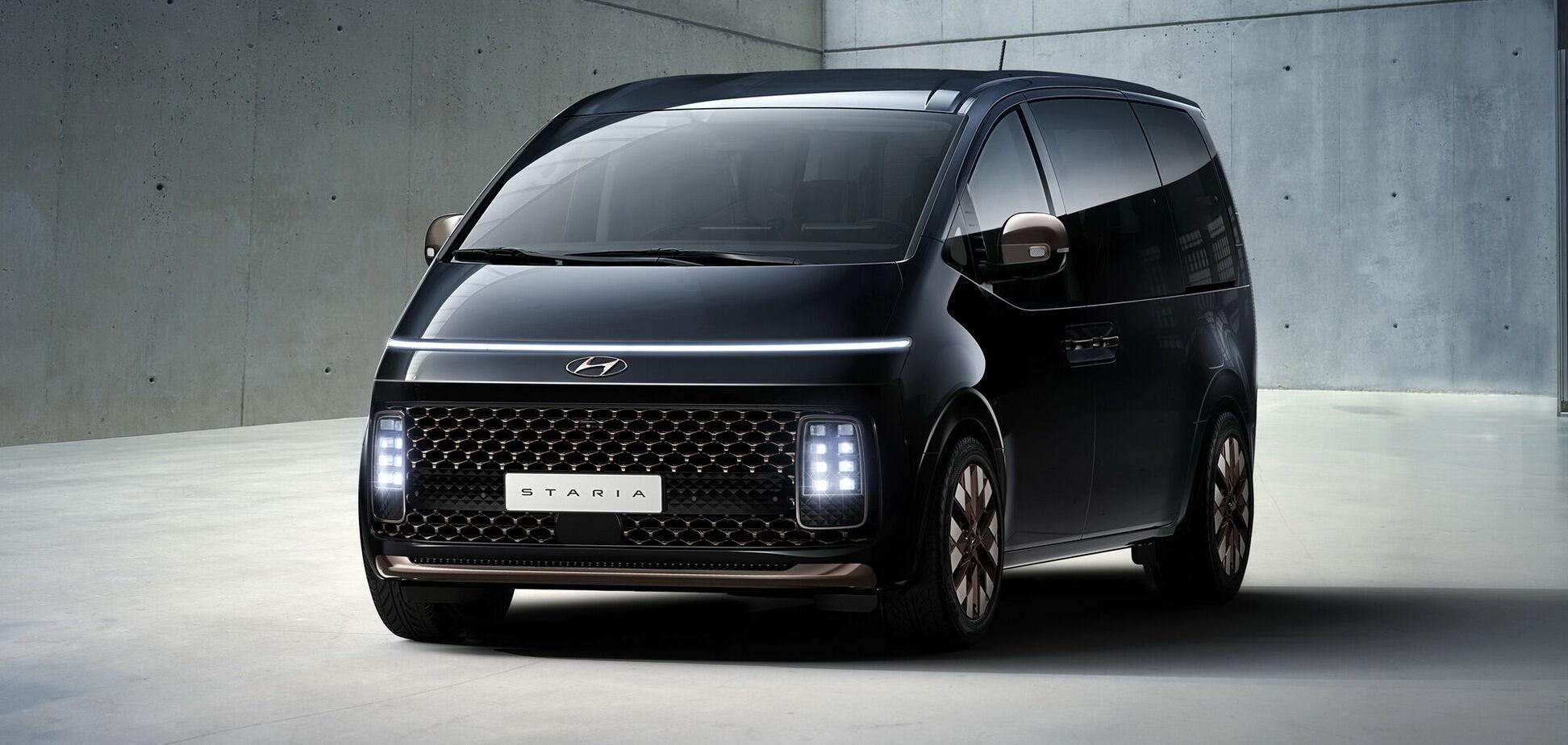 'Космічний' мінівен Hyundai приїде в Україну