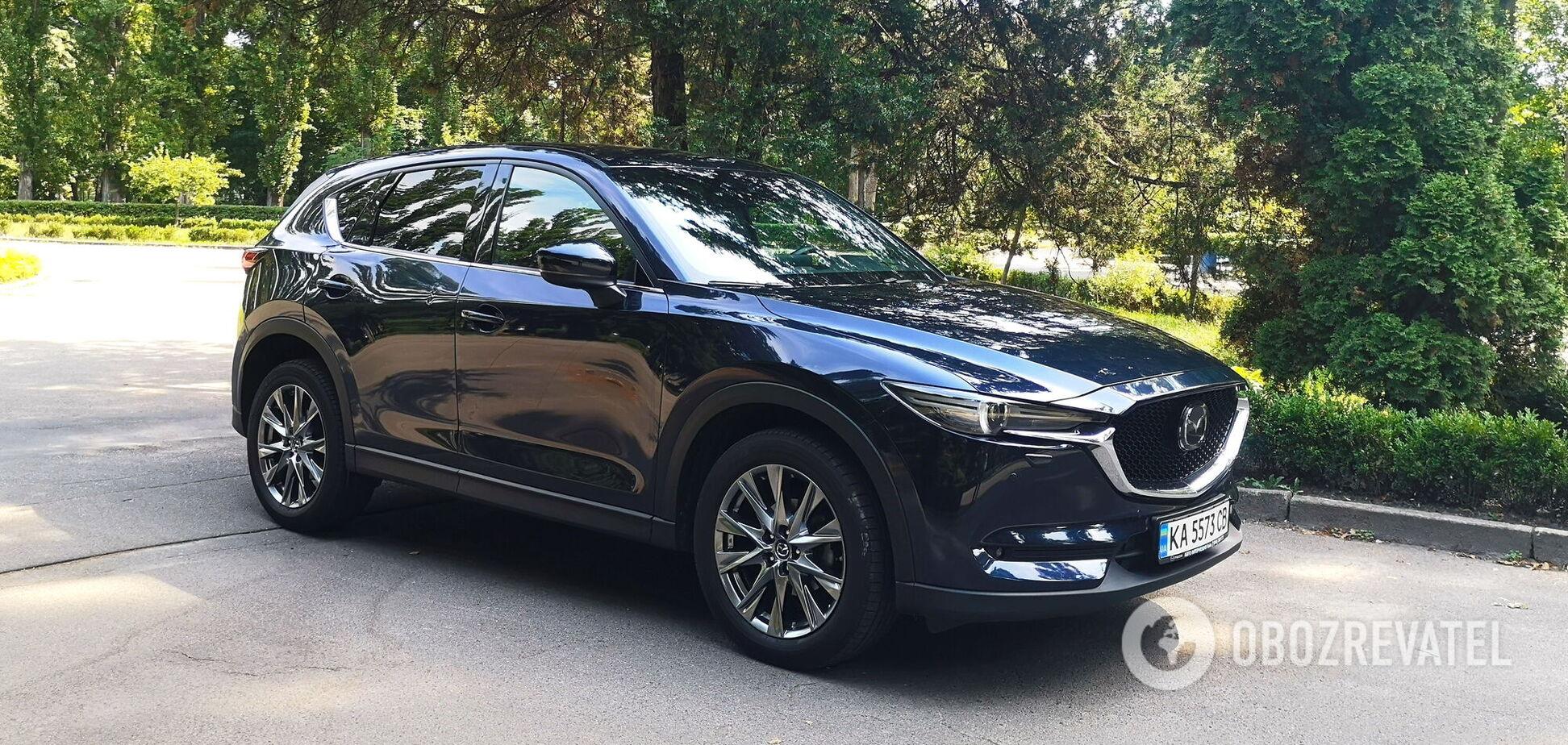 Практичная элегантность: тестируем Mazda CX-5