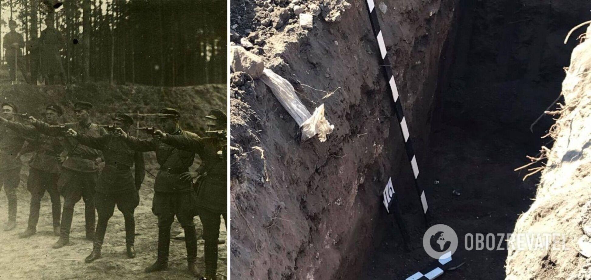Захоронение жертв советского режима