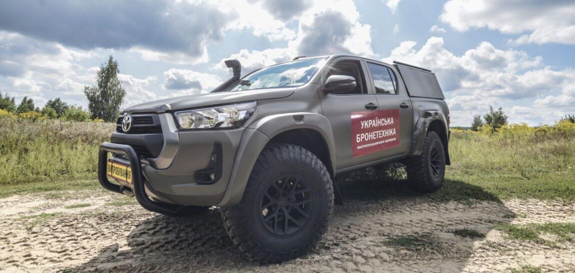 'Українська бронетехніка' представила автомобіль 'Сайгак' для ЗСУ