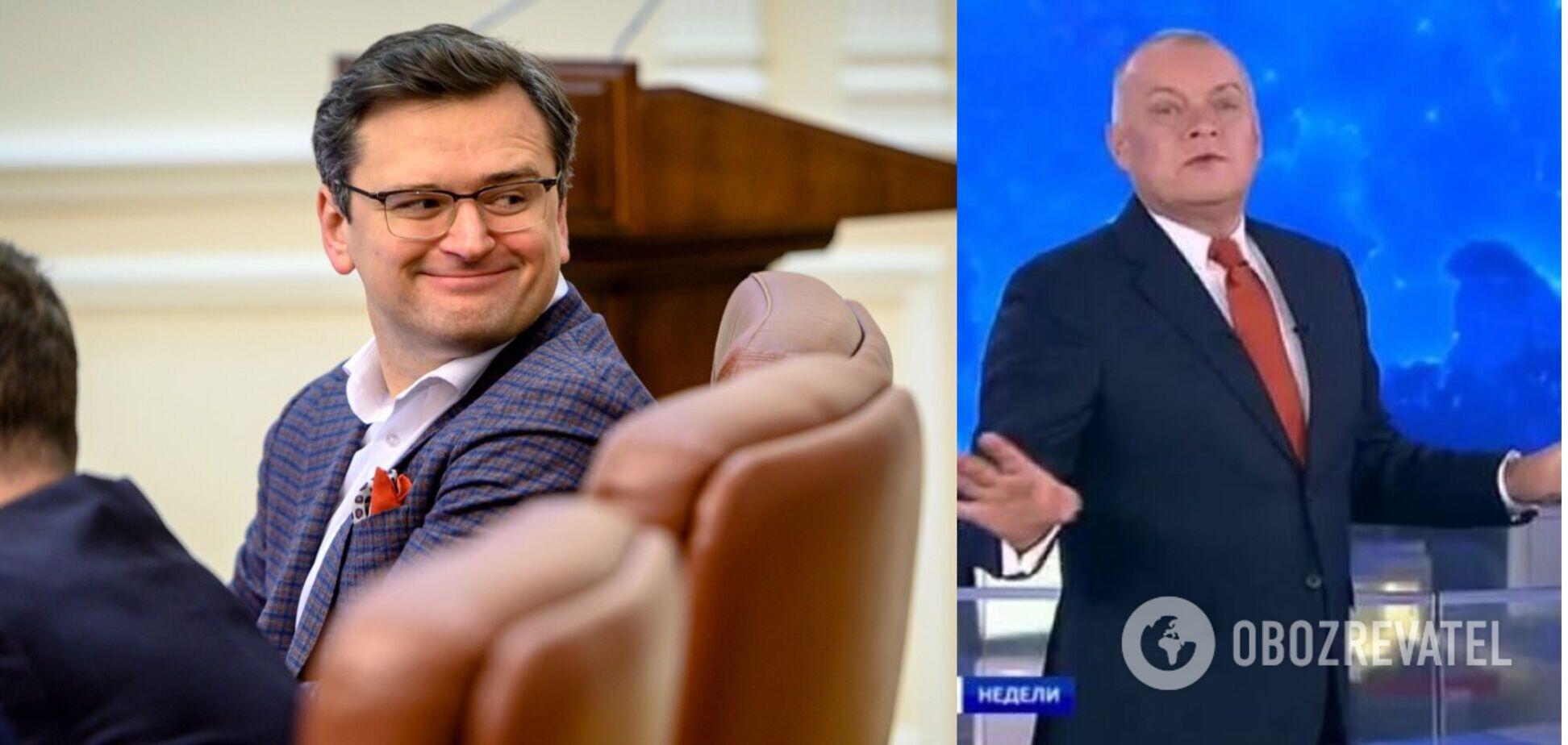 Кулеба в Вашингтоне отказался отвечать на вопрос российского журналиста. Видео