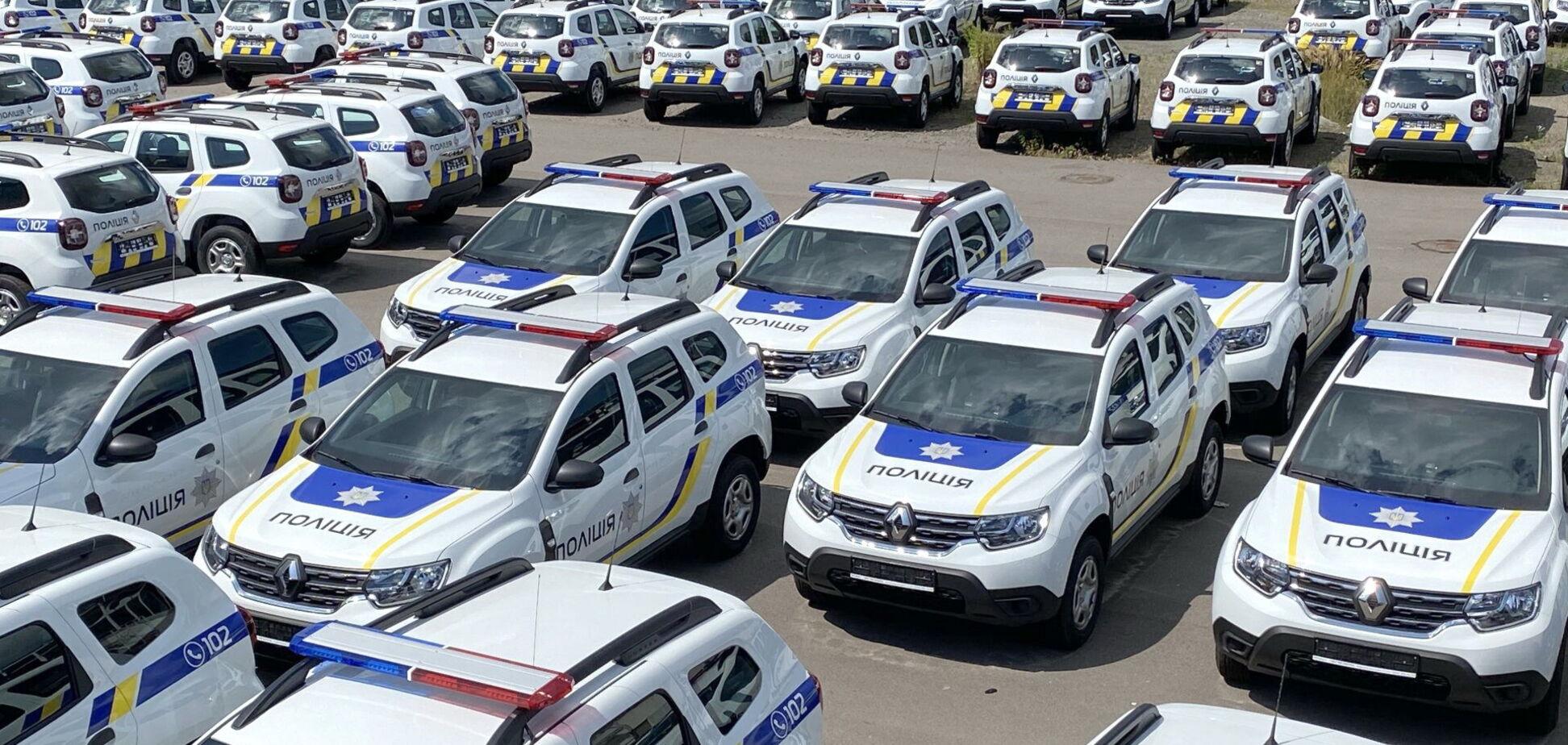 Renault Duster поставили на службу в Национальную полицию Украины