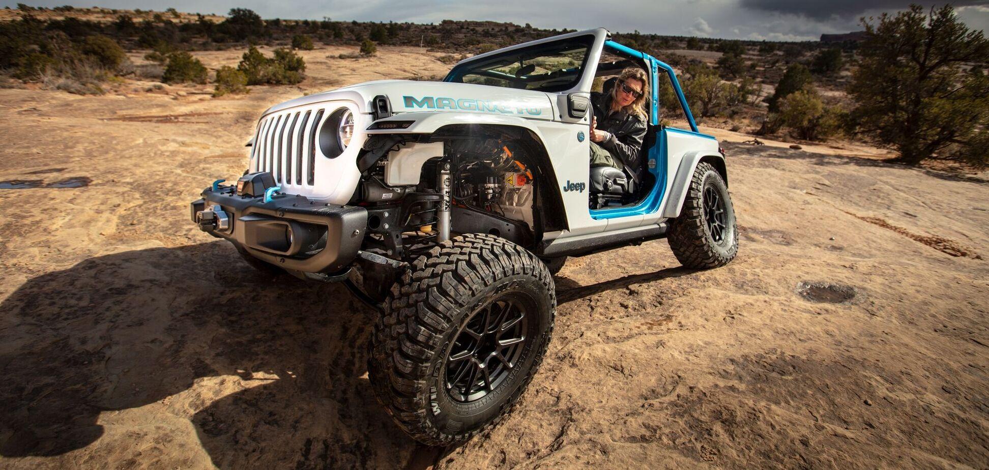 Первый электрический Jeep представят в 2023 году