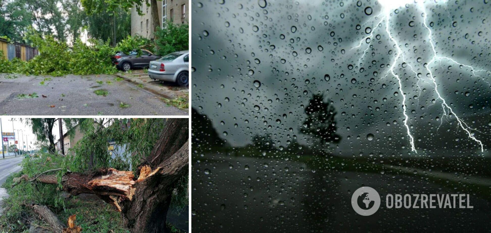 Негода в Угорщині