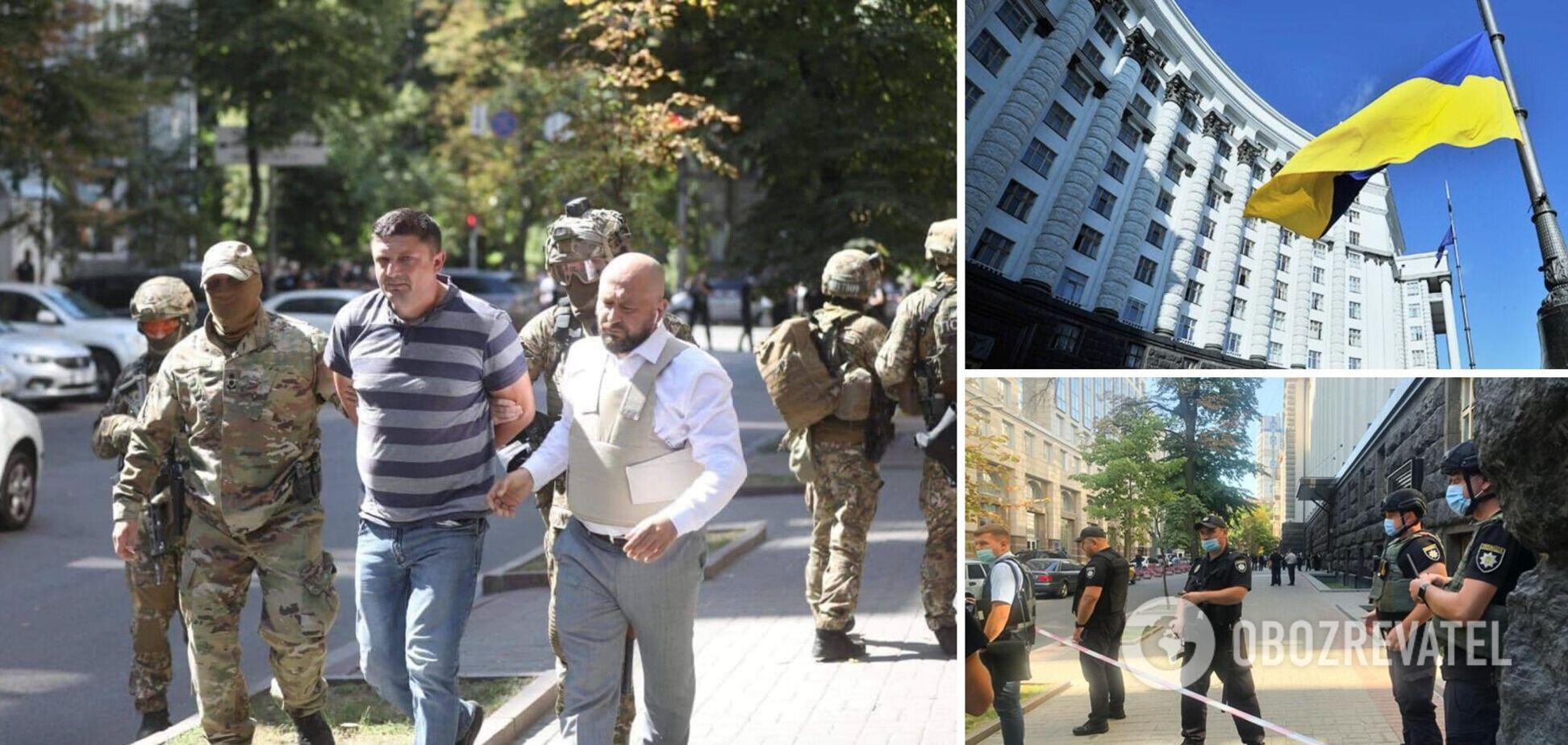 Кабмин с гранатой захватывал ветеран АТО и экс-боец 'Айдара'. Эксклюзивные детали о задержанном