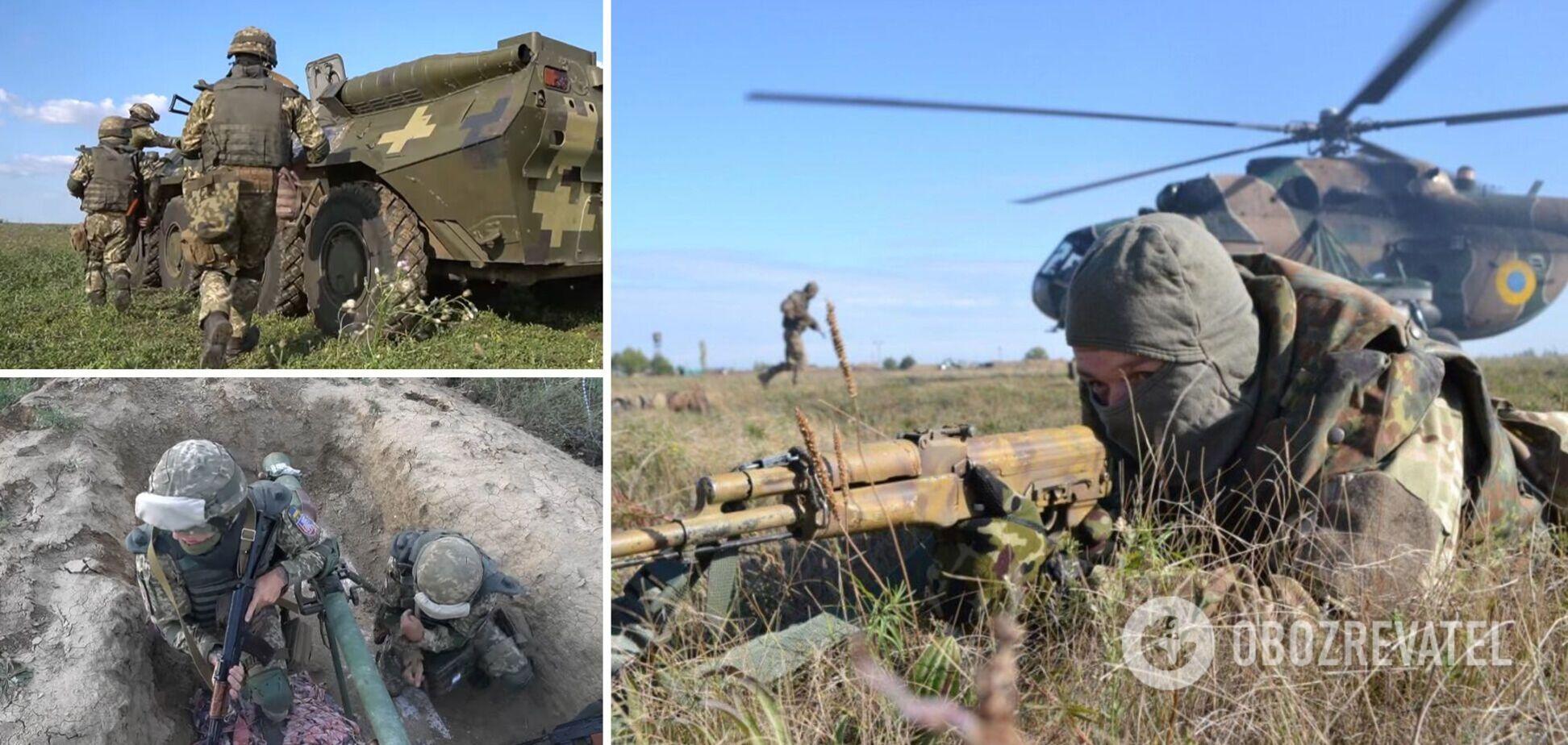 Десантники и резервисты ВСУ провели тренировки на админгранице с Крымом. Видео