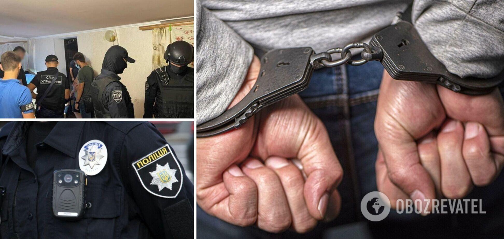На Одесчине предотвратили вооруженное нападение на главу ОТГ: преступников поймали на горячем. Фото