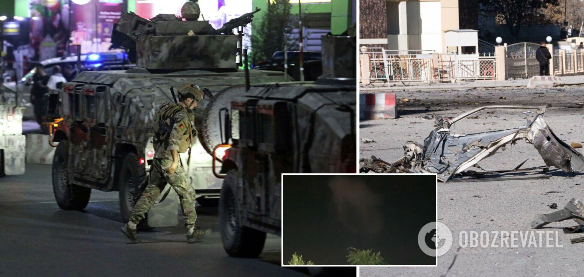 В Афганистане взорвали авто возле резиденции министра обороны, произошла стрельба