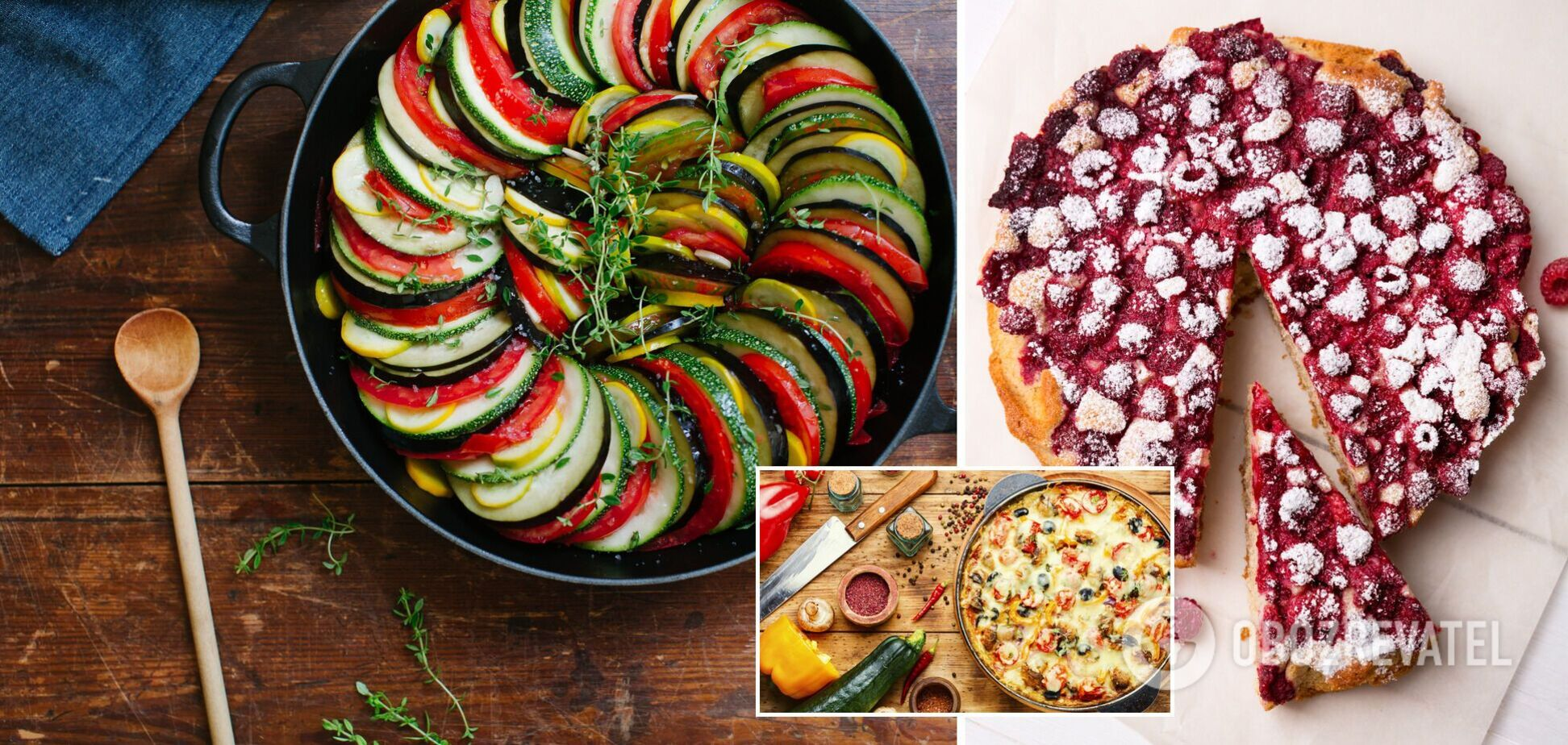 Вкусные летние блюда