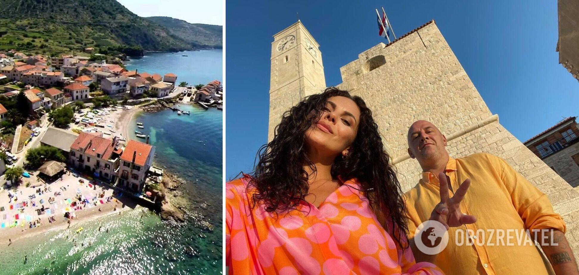 Настя Каменских и Потап проводят отпуск с мамами в Хорватии. Фото